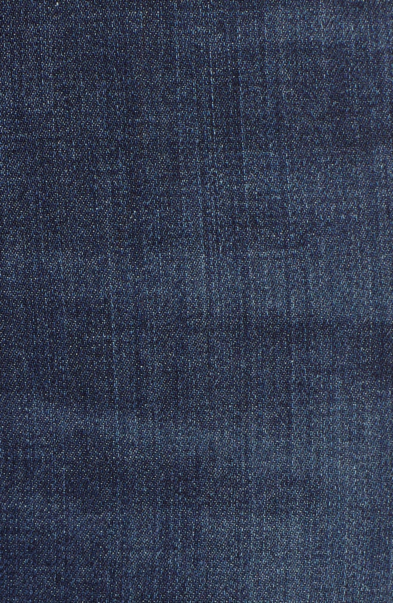 AG, The Farrah High Waist Skinny Jeans, Alternate thumbnail 6, color, 430