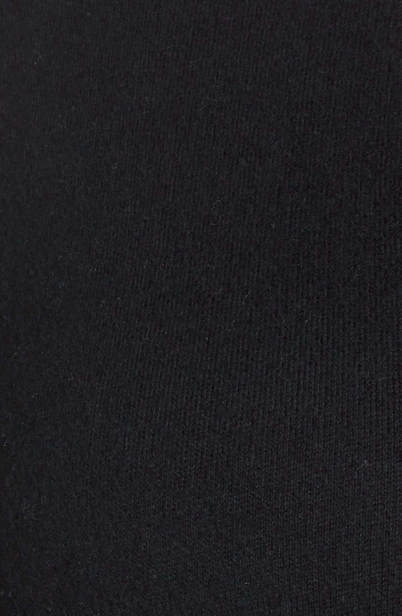BP., Asymmetrical Button Top, Alternate thumbnail 11, color, BLACK