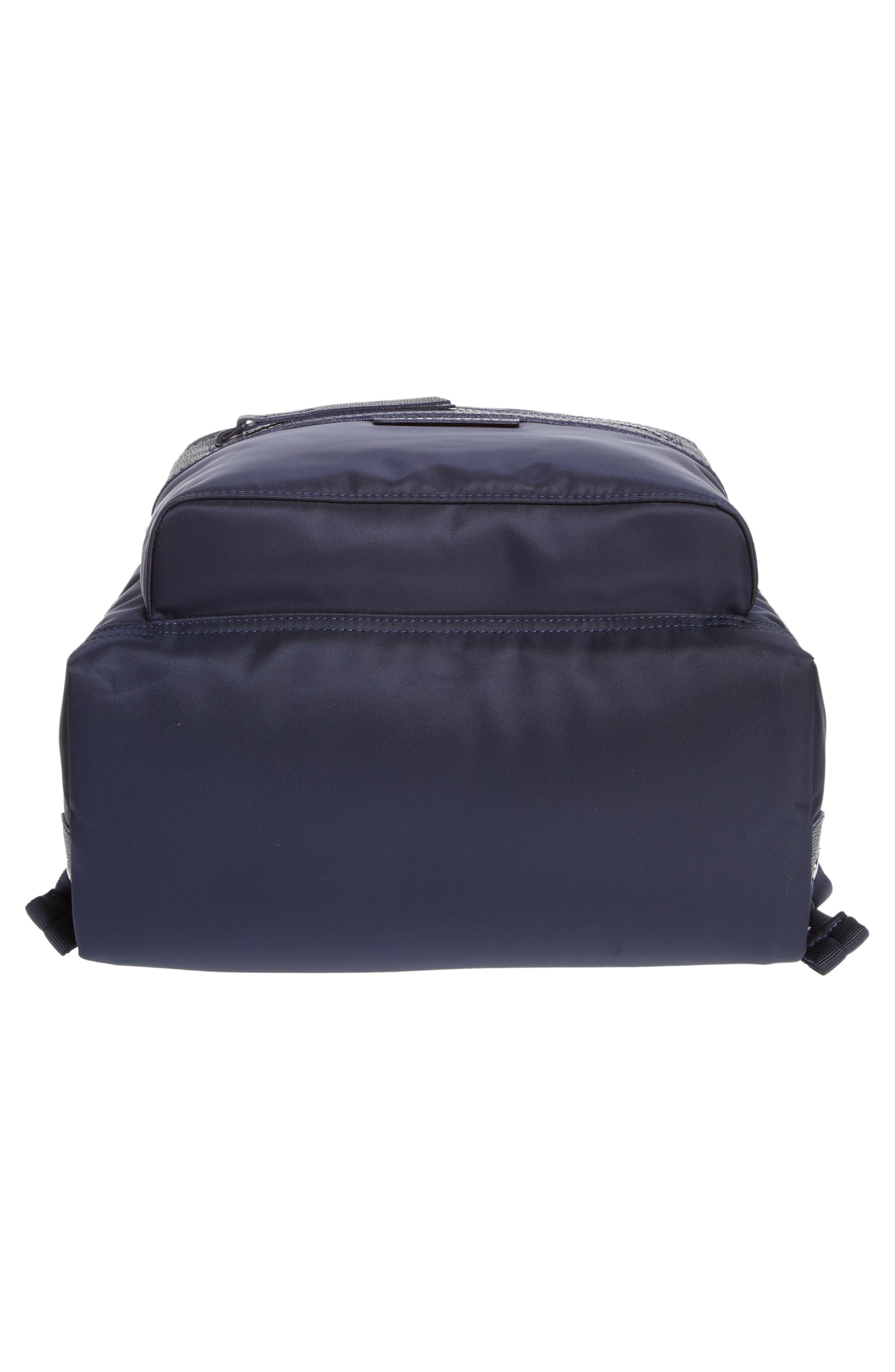 LONGCHAMP, 'Le Pliage Neo' Nylon Backpack, Alternate thumbnail 7, color, NAVY BLUE
