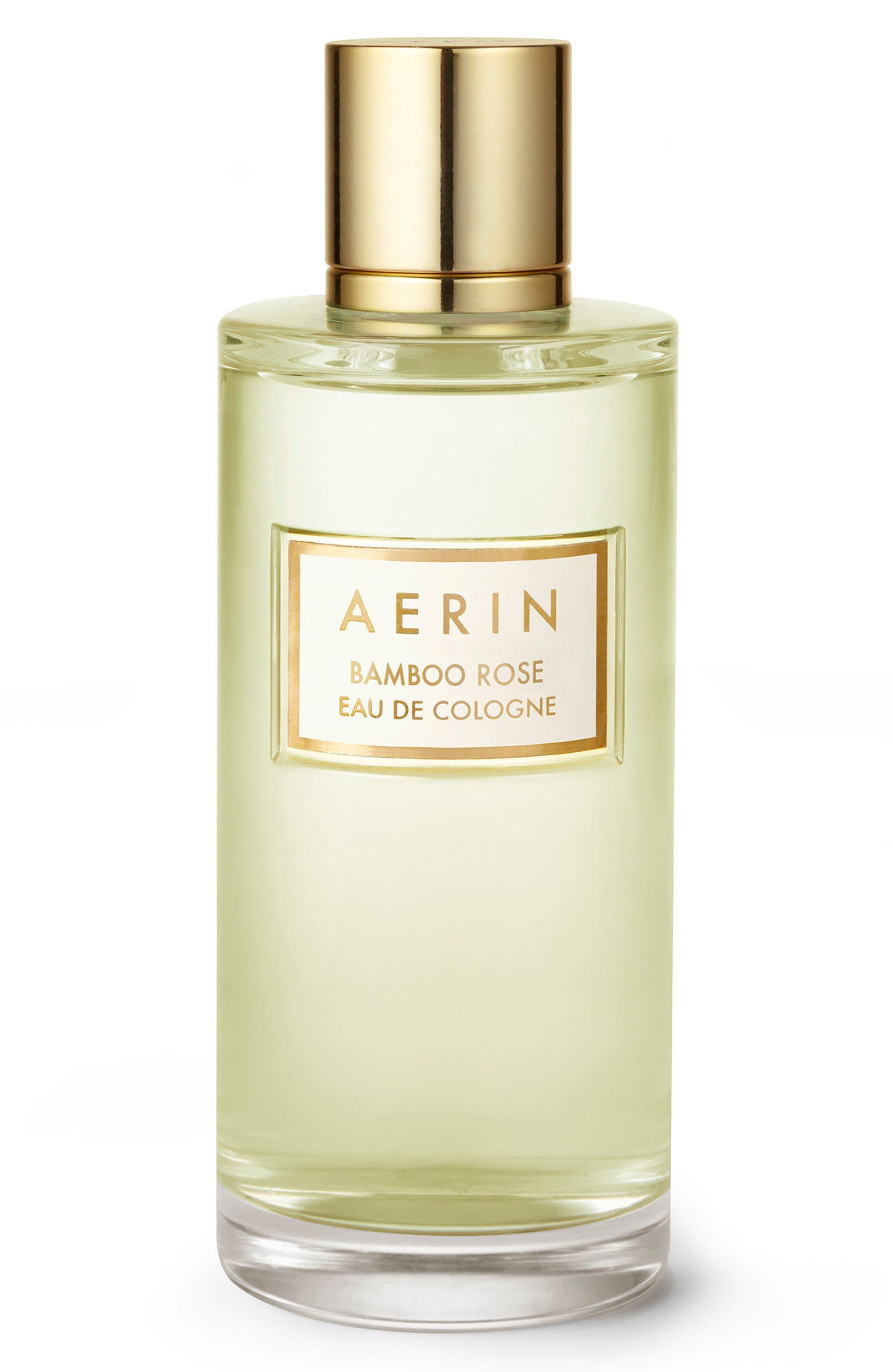 ESTÉE LAUDER, AERIN Beauty Bamboo Rose Eau de Cologne, Main thumbnail 1, color, NO COLOR