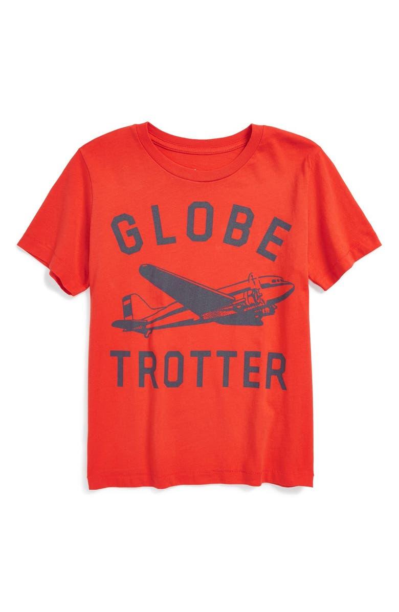 26fff9301 Peek 'Globetrotter' Graphic T-Shirt (Little Boys & Big Boys) | Nordstrom