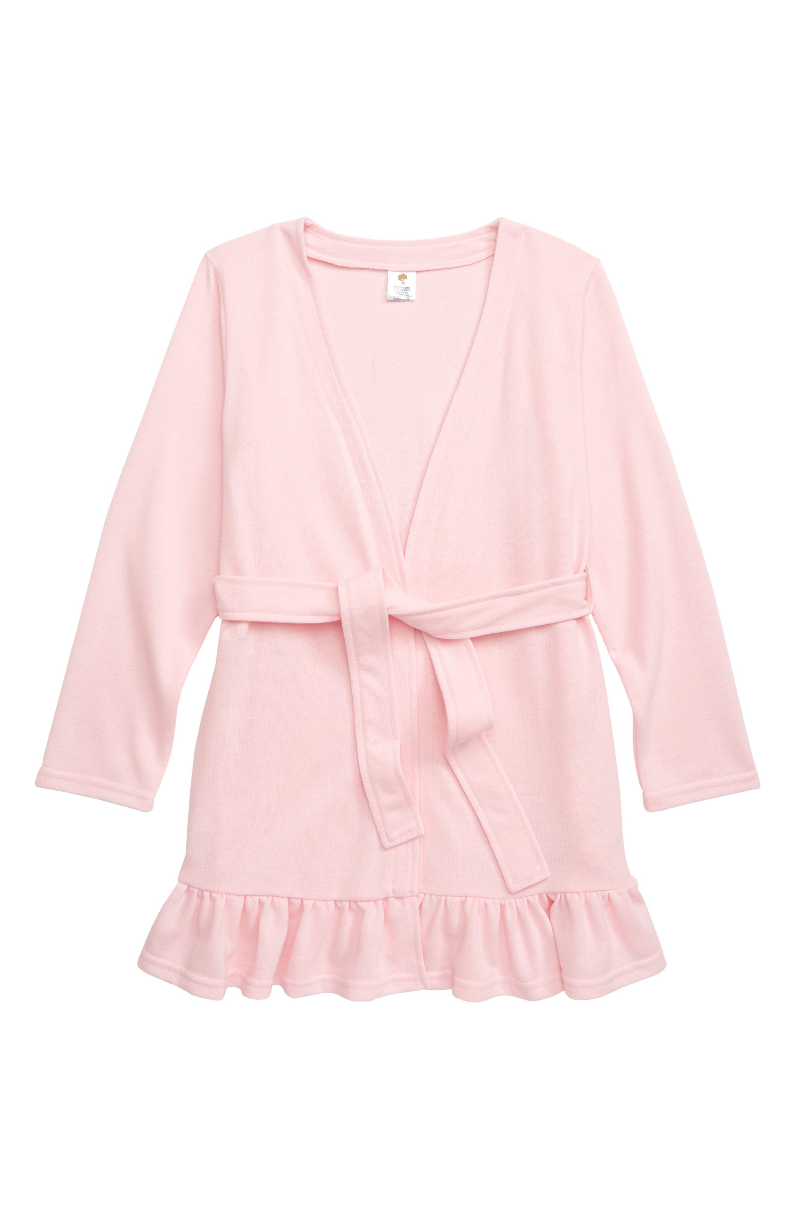 Girls Tucker  Tate Ruffle Hem Robe Size XXS (4)  Pink