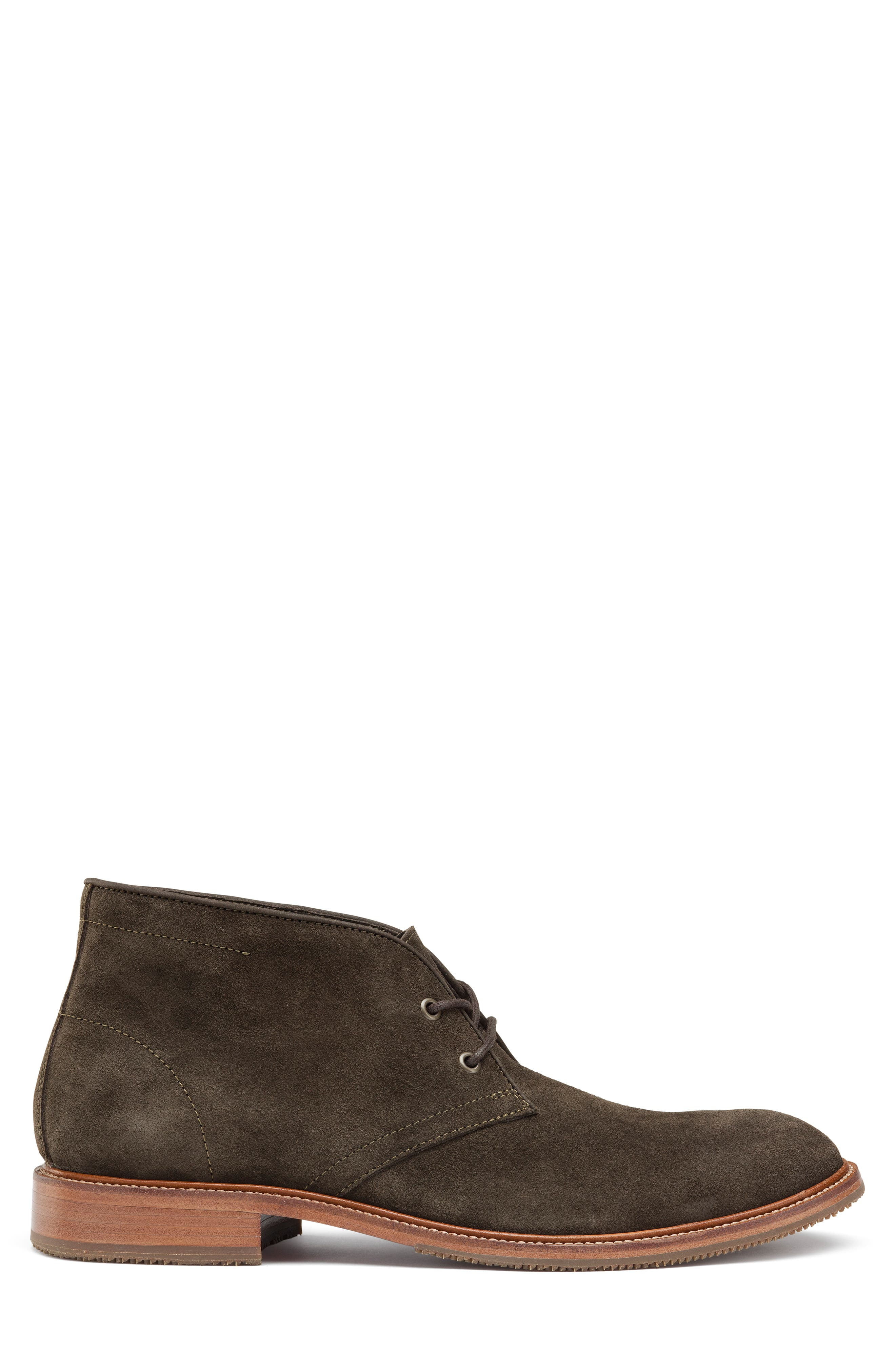 TRASK, Landers Chukka Boot, Alternate thumbnail 3, color, OLIVE SUEDE