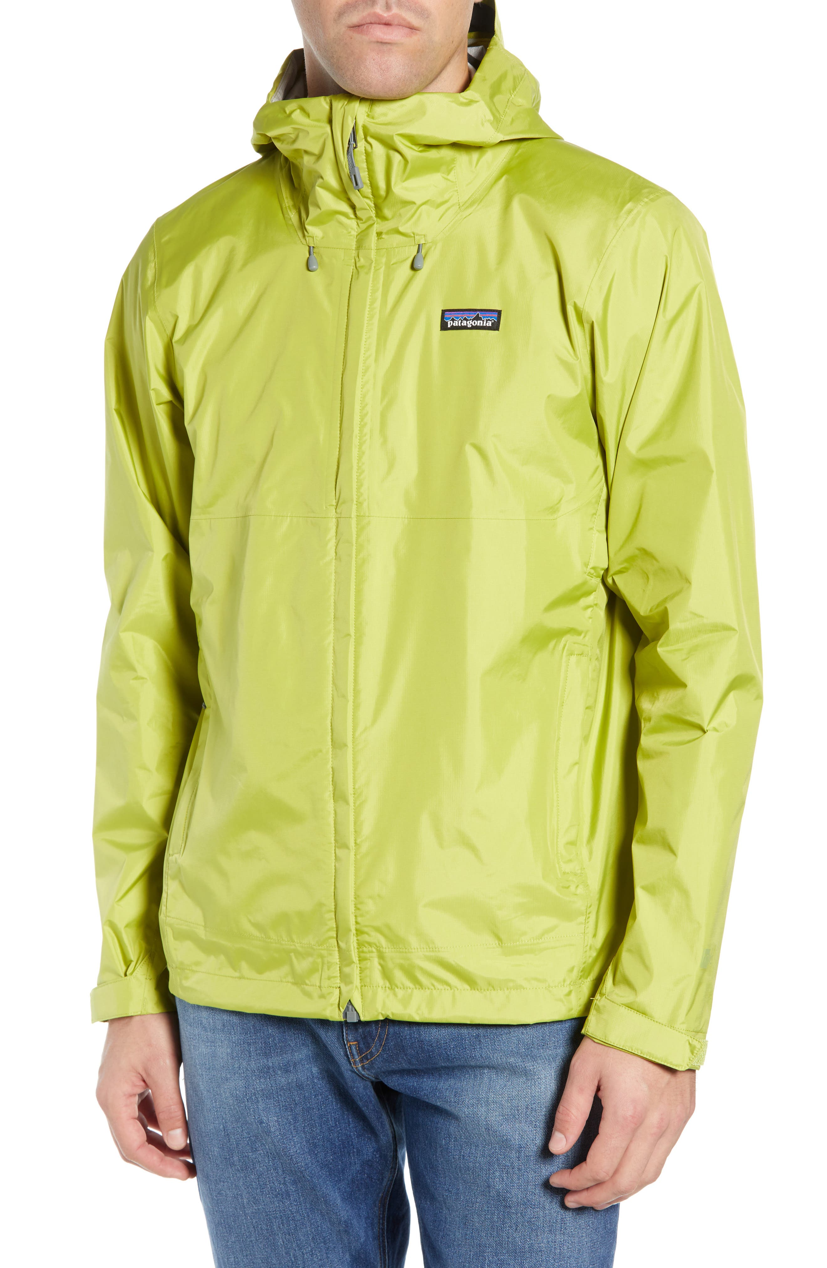 PATAGONIA, Torrentshell Packable Rain Jacket, Alternate thumbnail 5, color, FOLIOS GREEN