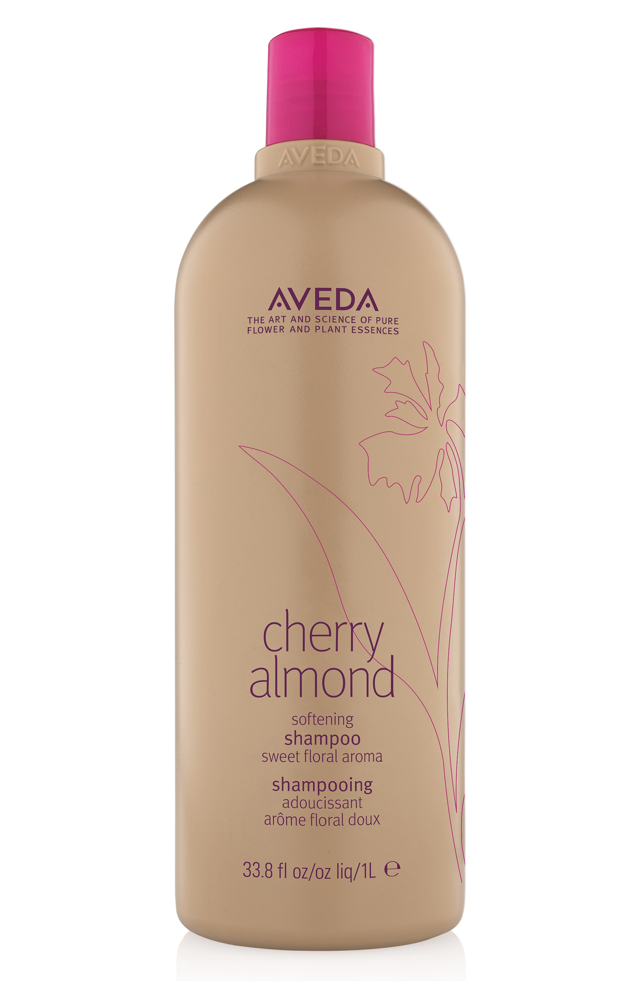 AVEDA, Cherry Almond Softening Shampoo, Alternate thumbnail 2, color, NO COLOR