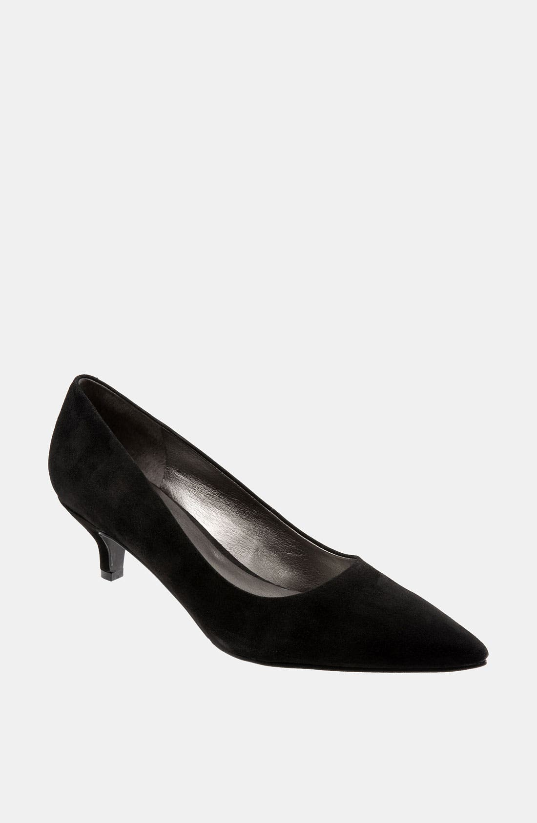 TROTTERS 'Paulina' Leather Pump, Main, color, 001