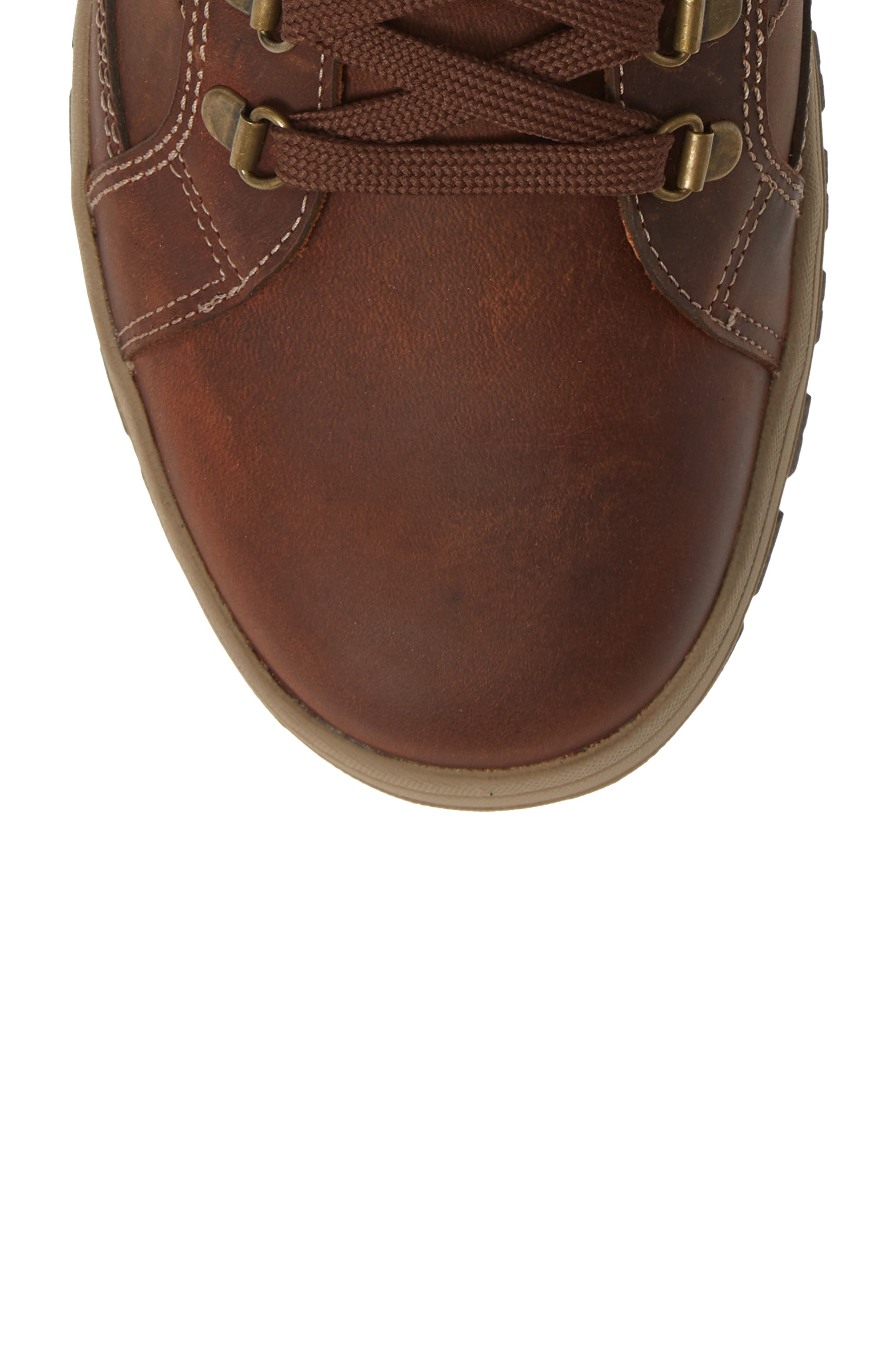 MEPHISTO, Pitt Mid Lace-Up Boot, Alternate thumbnail 5, color, 213