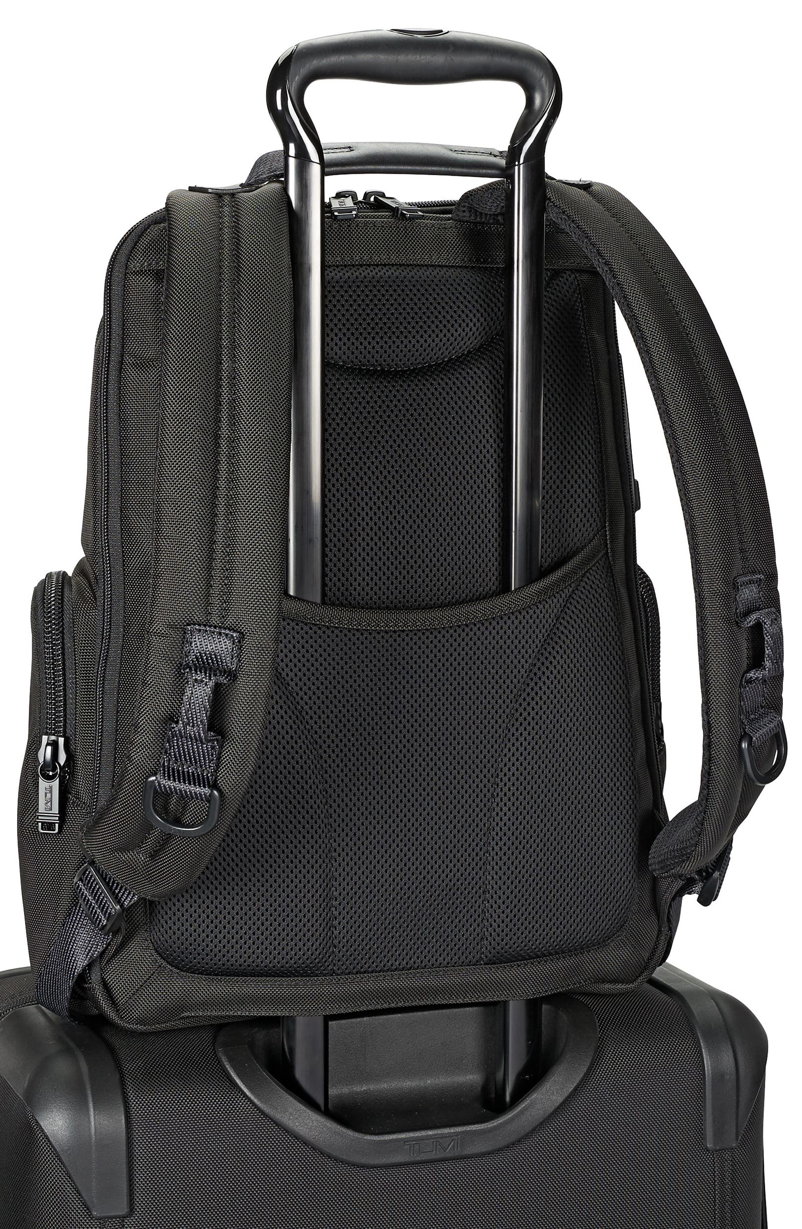 TUMI, Alpha Bravo - Nellis Backpack, Alternate thumbnail 2, color, BLACK