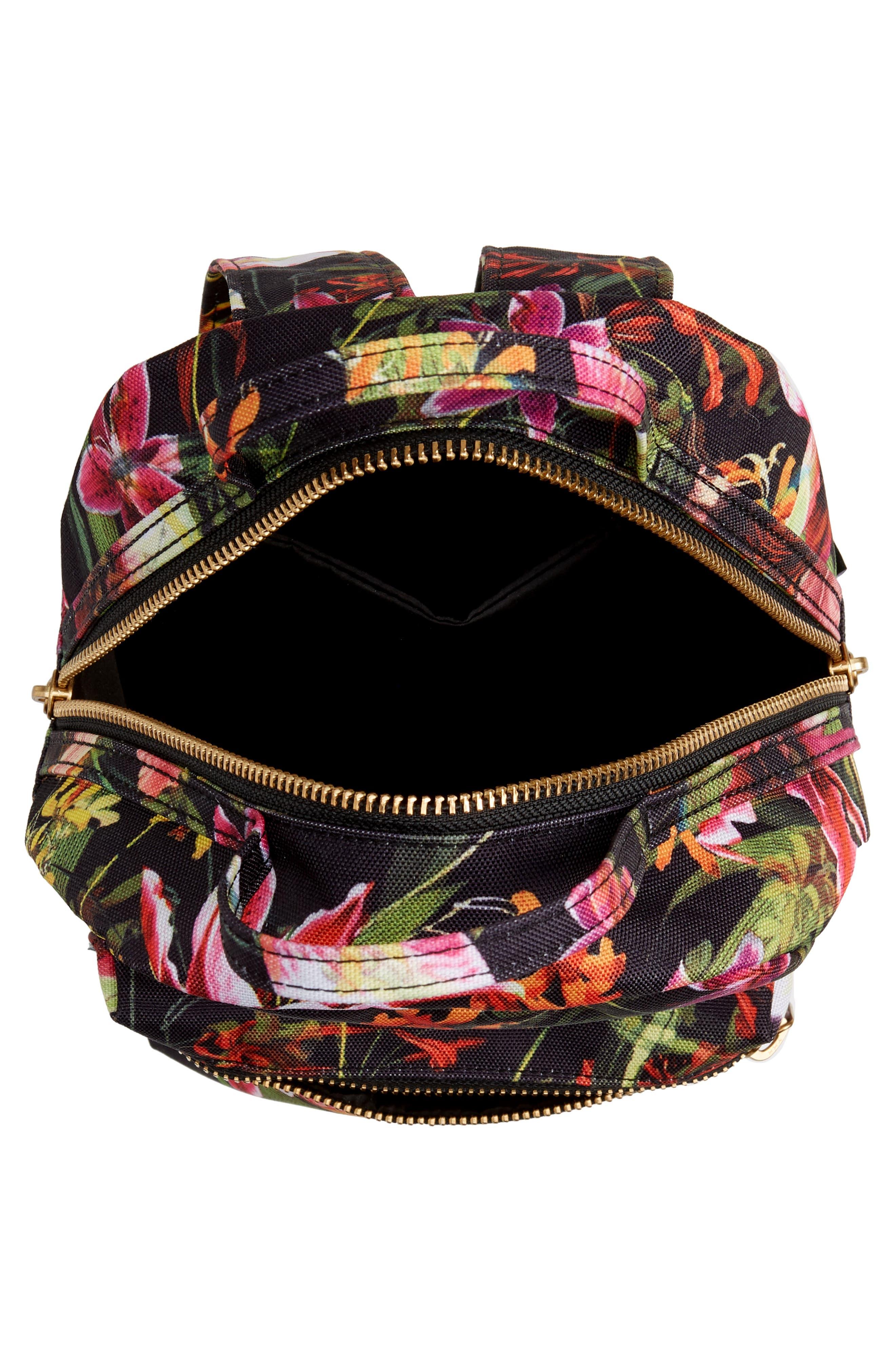HERSCHEL SUPPLY CO., Mini Nova Backpack, Alternate thumbnail 5, color, JUNGLE HOFFMAN