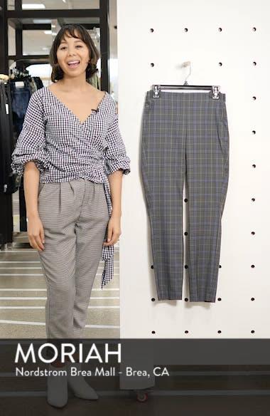 Simone Plaid Crop Pants, sales video thumbnail