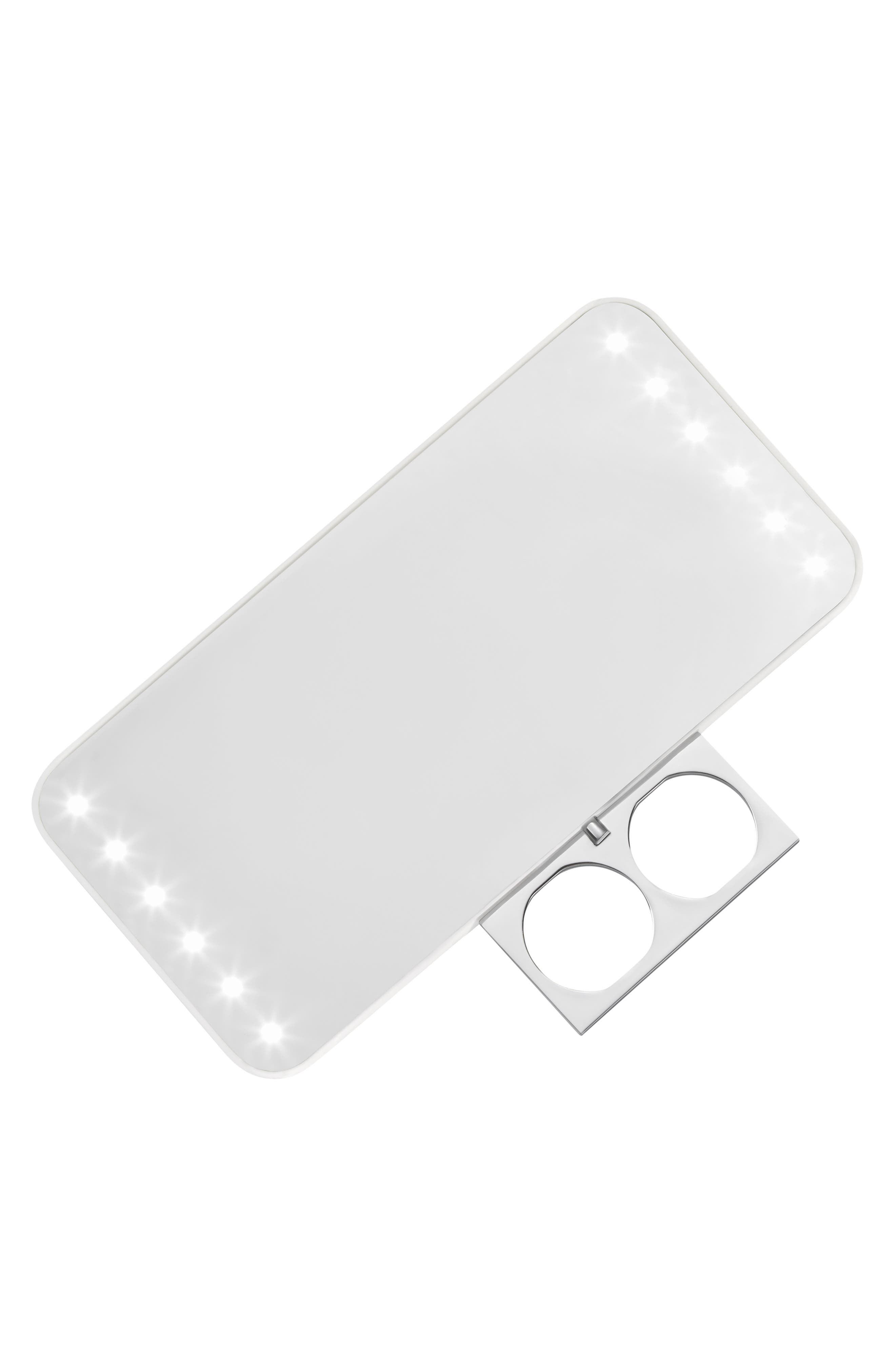 RIKI, Cutie Portable Lighted Mirror, Alternate thumbnail 2, color, NO COLOR
