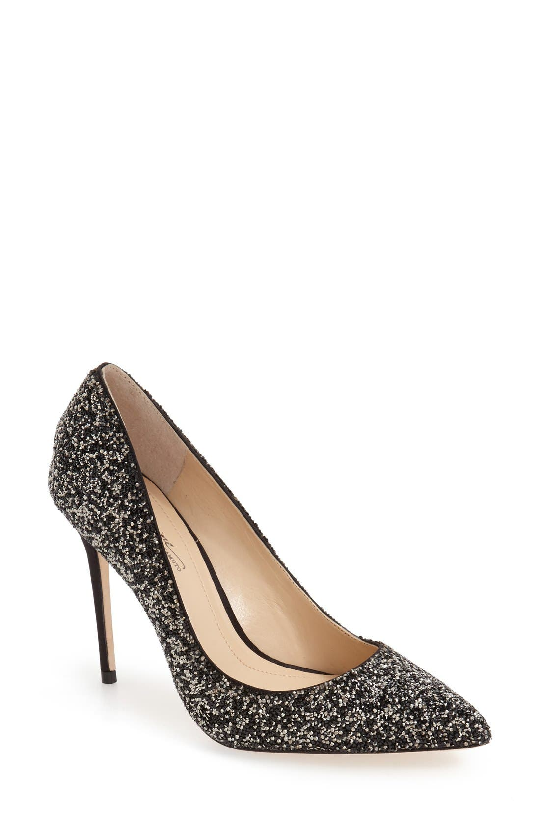 IMAGINE BY VINCE CAMUTO, 'Olson' Crystal Embellished Pump, Main thumbnail 1, color, 002