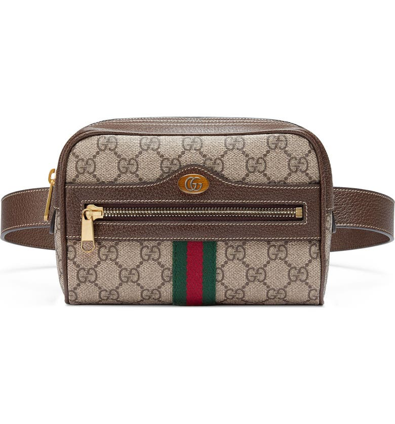 b615ad0e5dc Gucci Small Ophidia GG Supreme Canvas Belt Bag