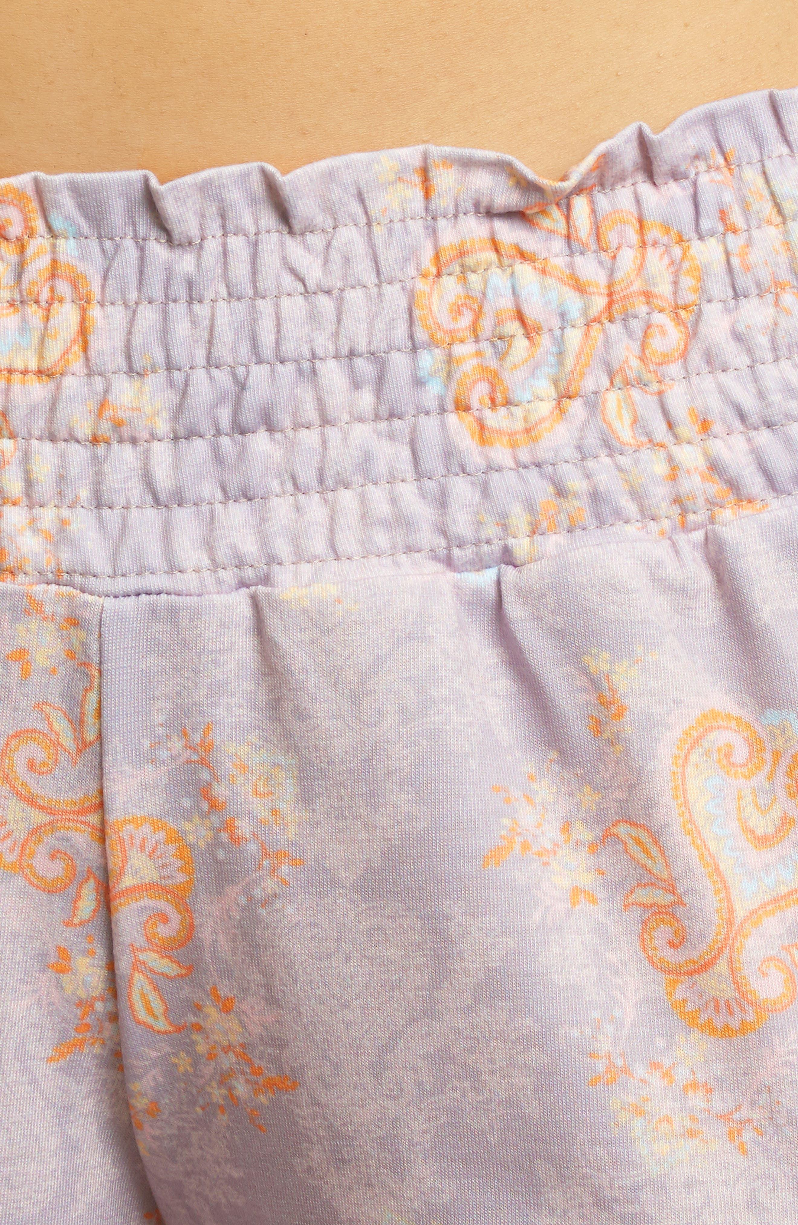 EVERLY GREY, Analise During & After 5-Piece Maternity/Nursing Sleep Set, Alternate thumbnail 4, color, BOHO