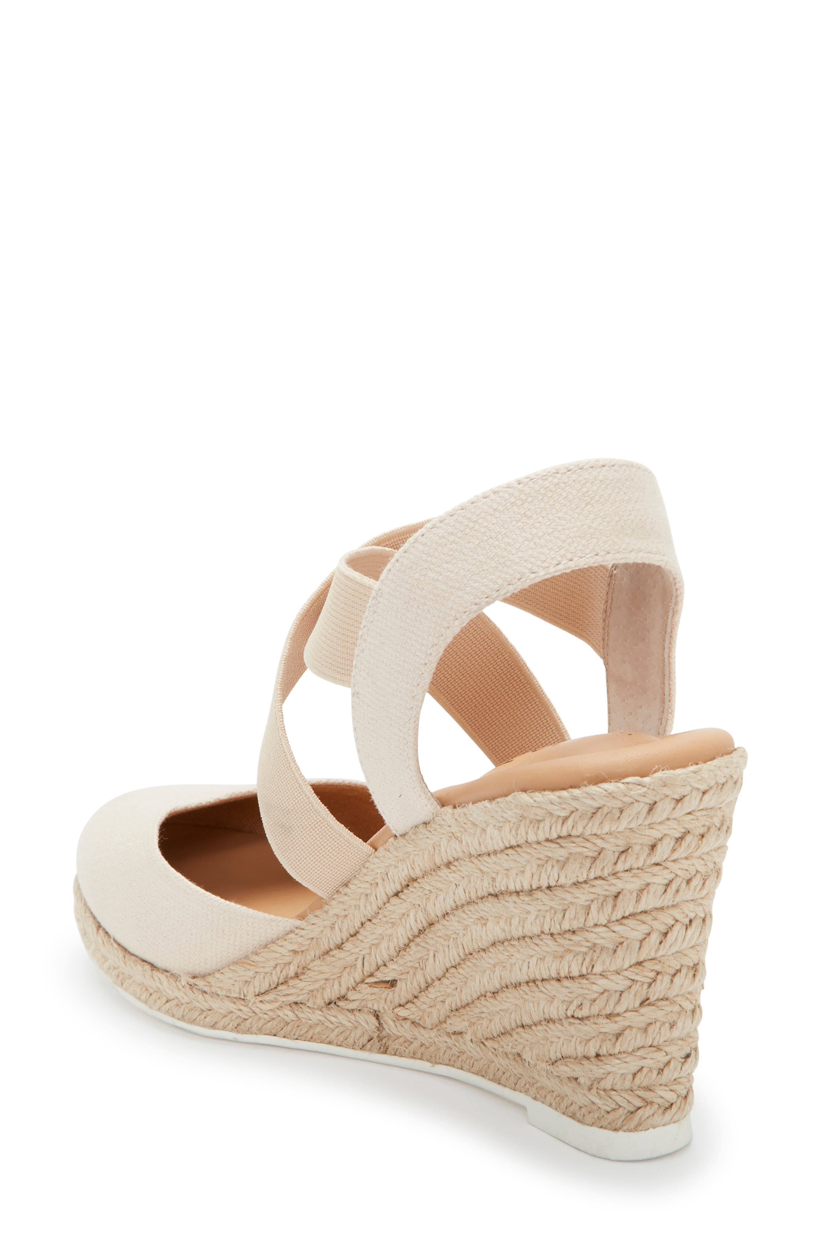 ME TOO, Brinley Espadrille Wedge, Alternate thumbnail 2, color, NATURAL CANVAS