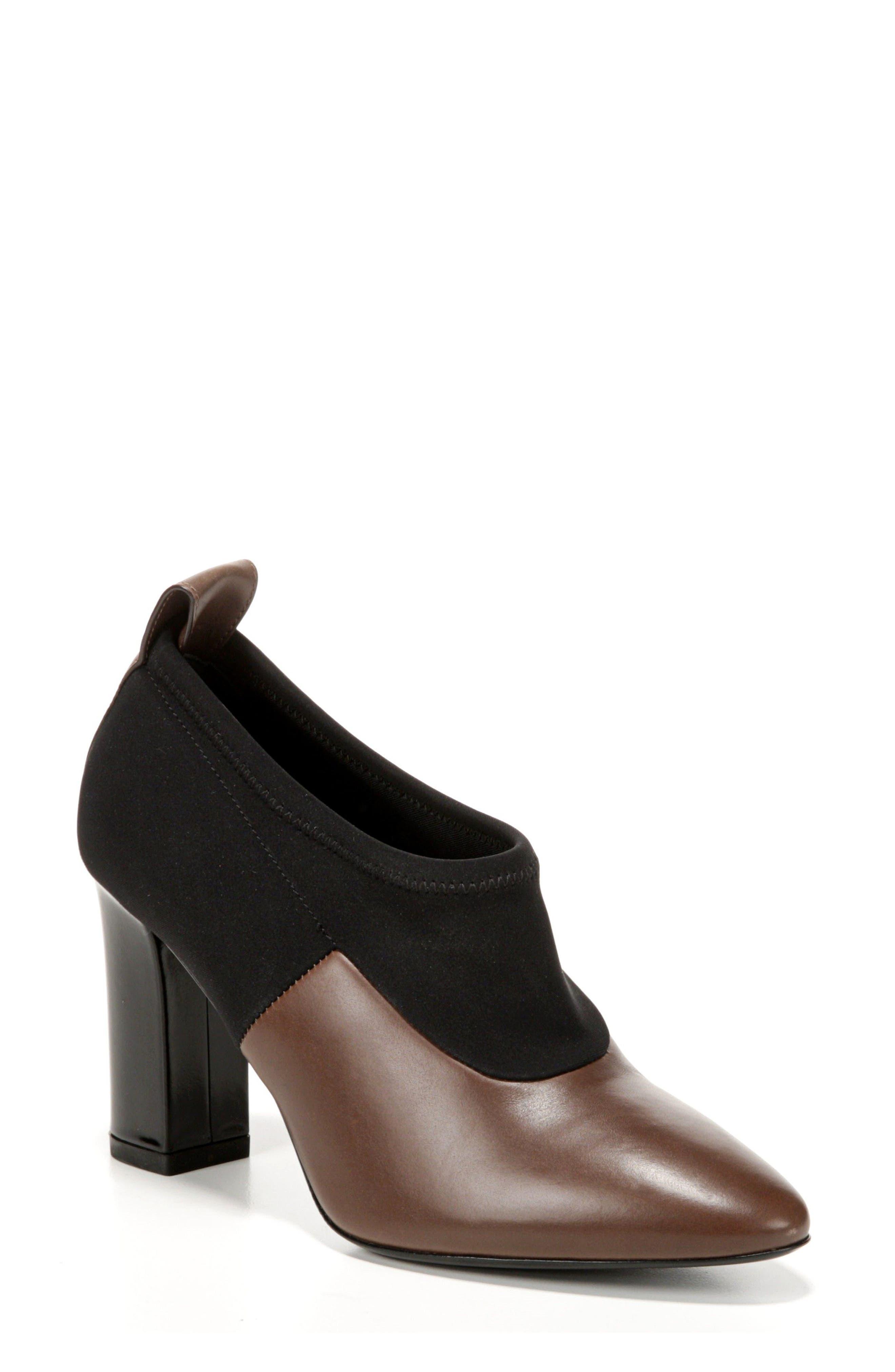 VIA SPIGA Bayne Block Heel Bootie, Main, color, 250