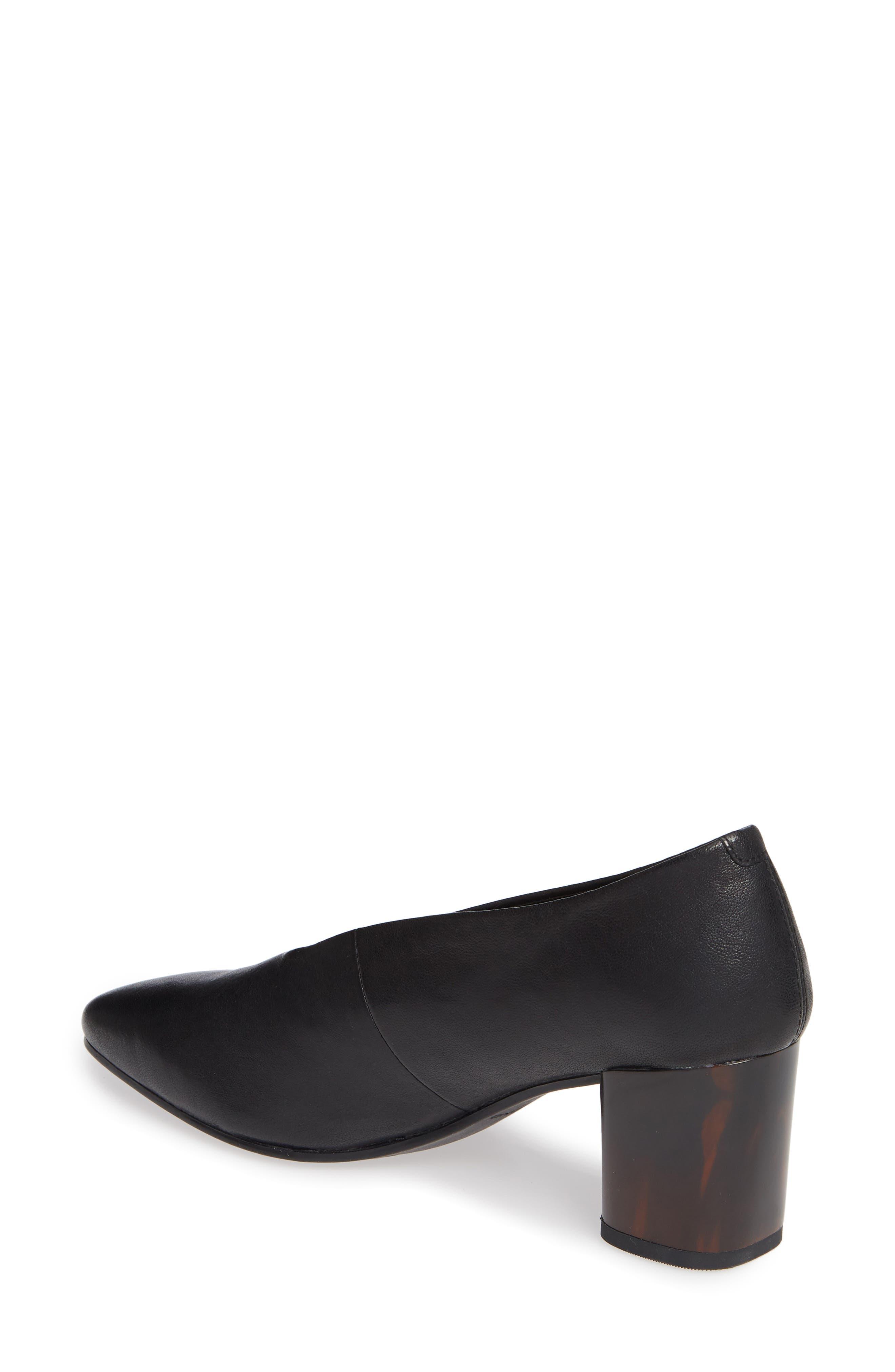 VAGABOND, Shoemakers Eve Pump, Alternate thumbnail 2, color, BLACK/ BLACK LEATHER