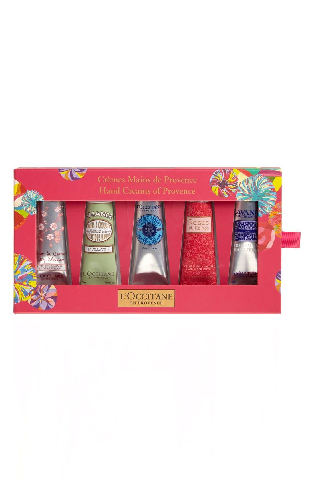 L'OCCITANE, Hand Creams of Provence, Main thumbnail 1, color, 000
