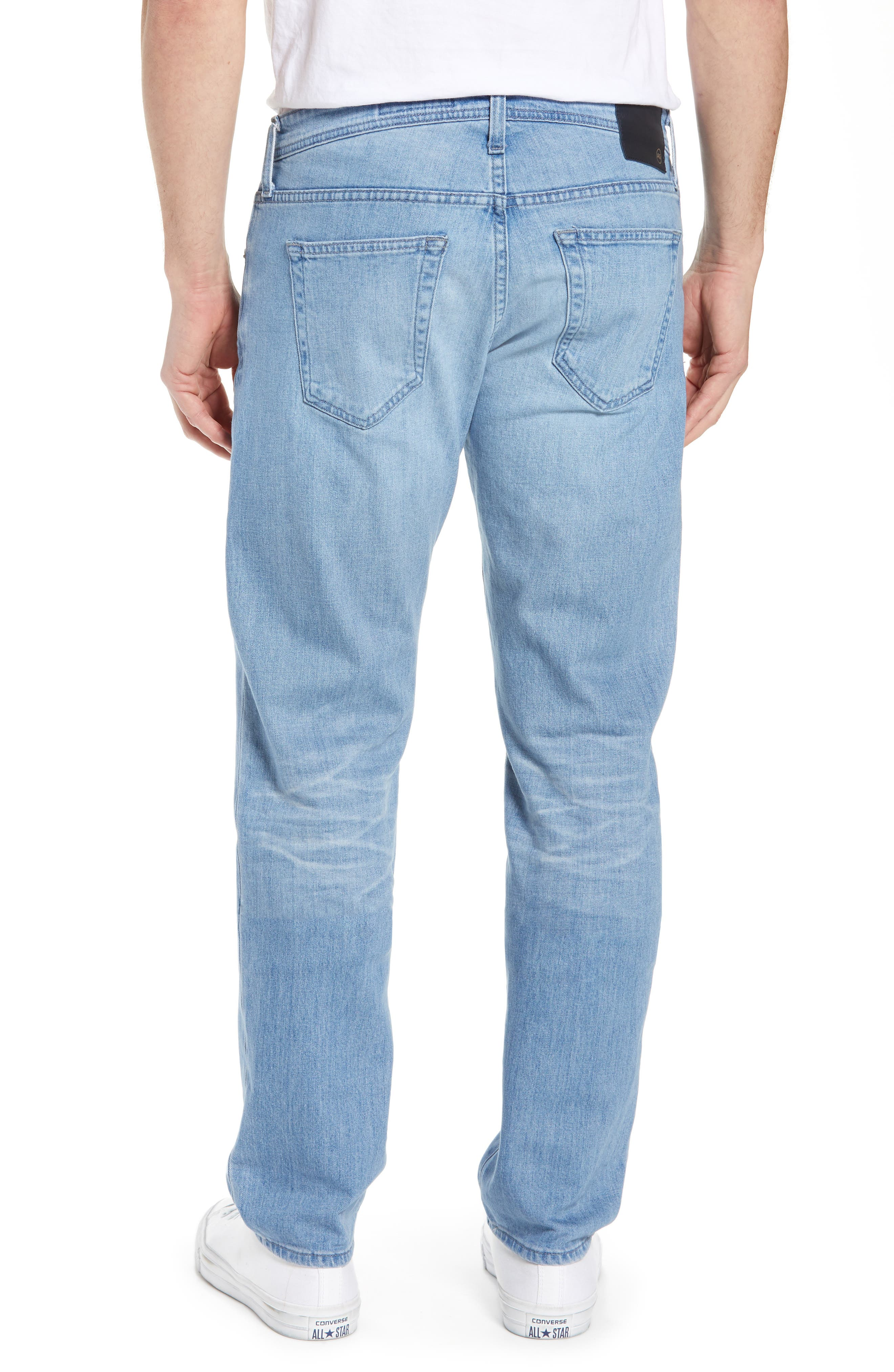 AG, Tellis Slim Fit Jeans, Alternate thumbnail 2, color, 17 YEARS PHASE