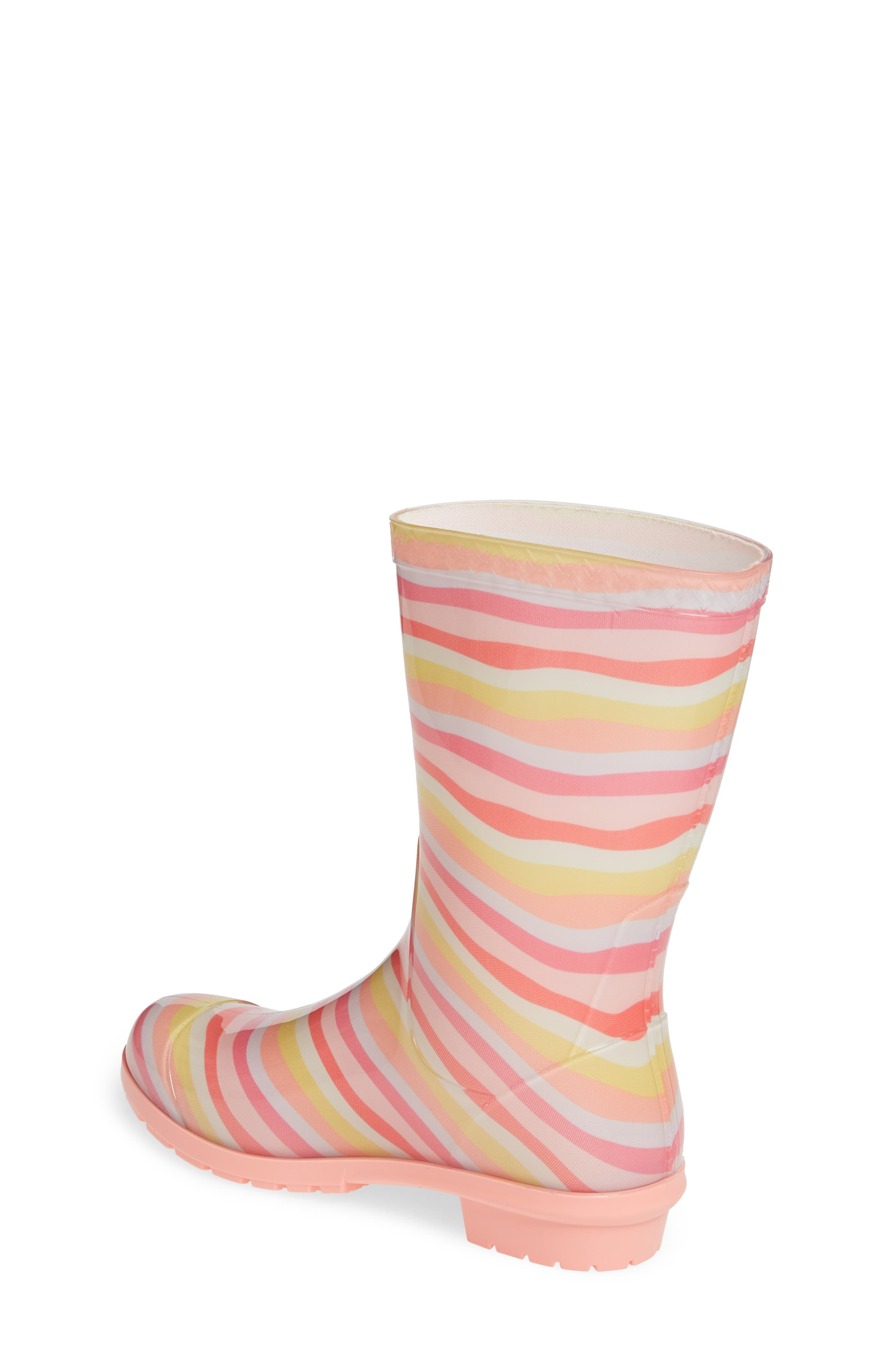 UGG<SUP>®</SUP>, Raana Waterproof Rain Boot, Alternate thumbnail 2, color, RAINBOW
