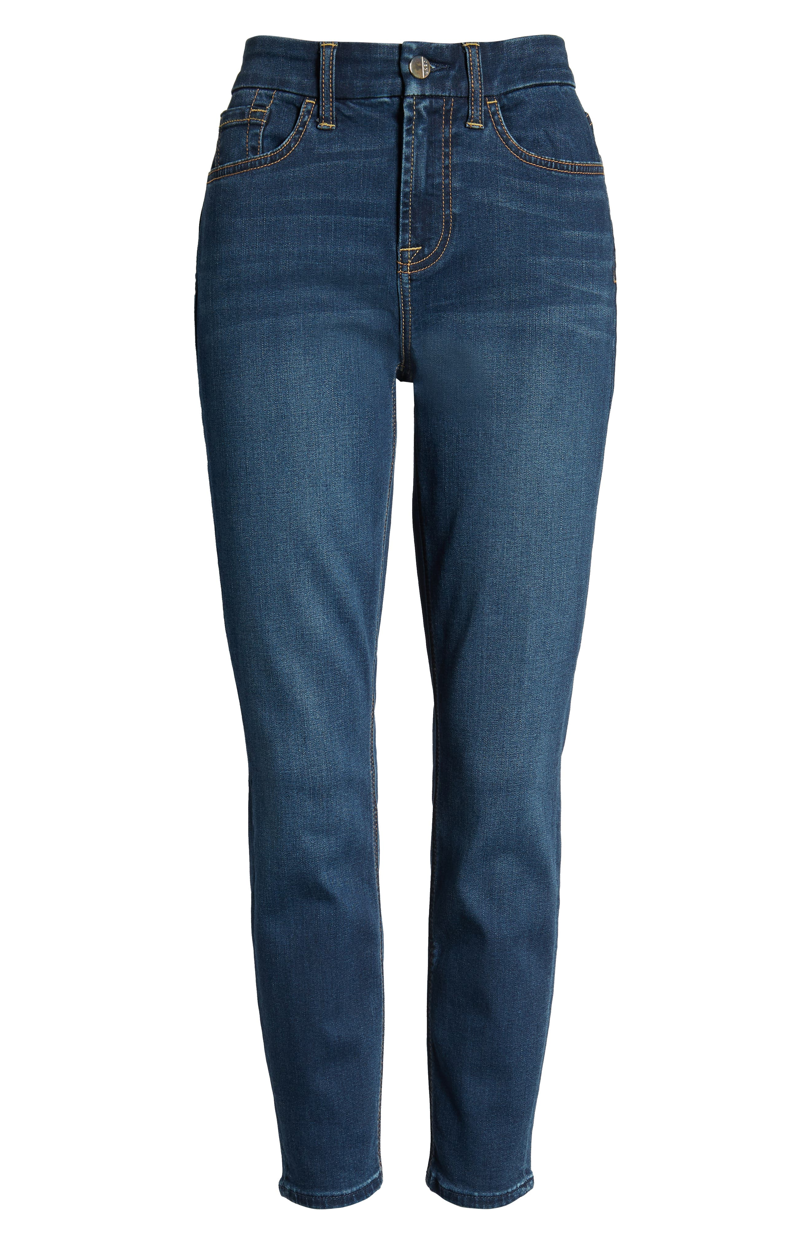 JEN7 BY 7 FOR ALL MANKIND, Ankle Skinny Jeans, Alternate thumbnail 7, color, 405