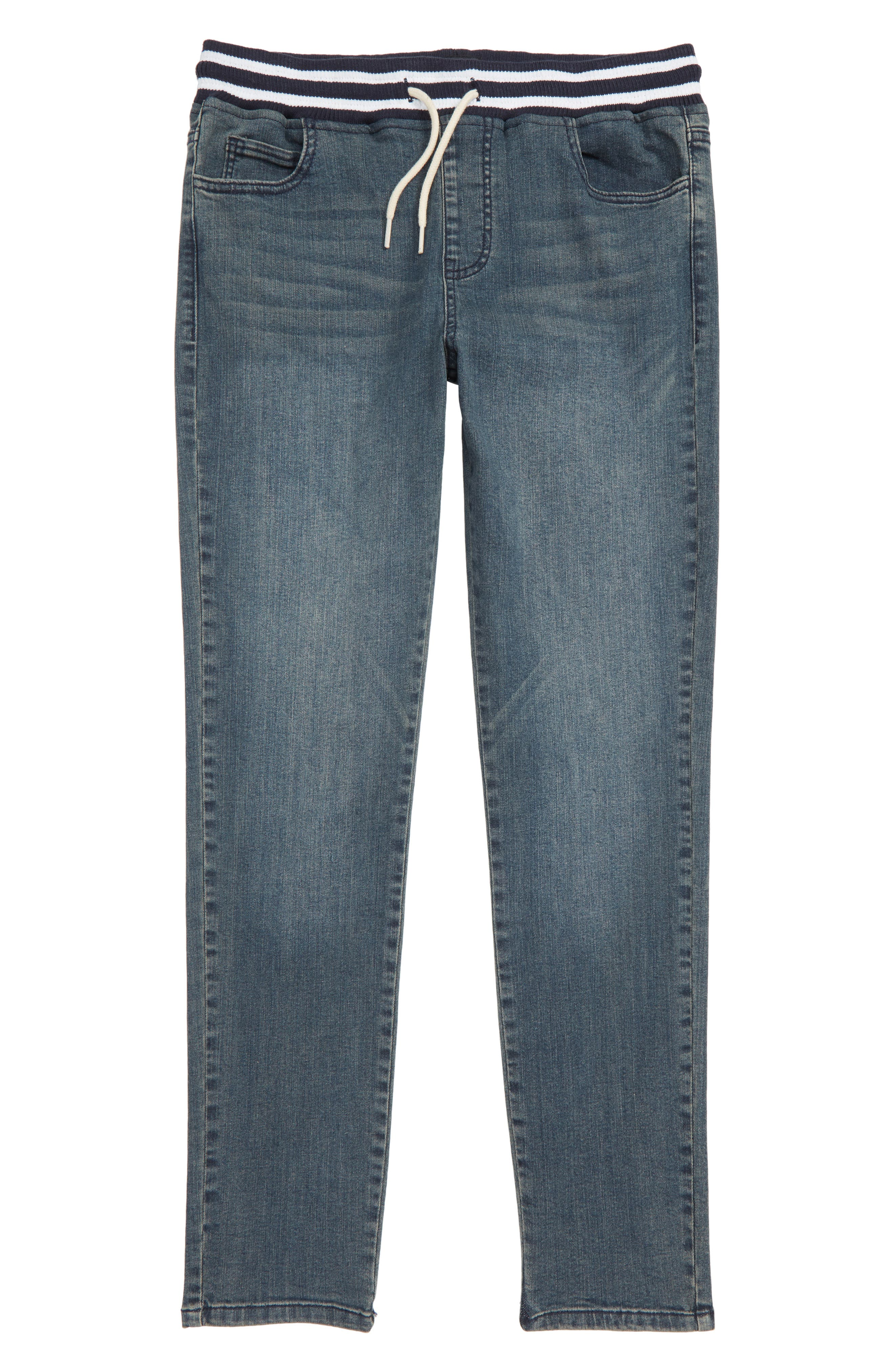ELWOOD, Denim Jogger Pants, Main thumbnail 1, color, 423