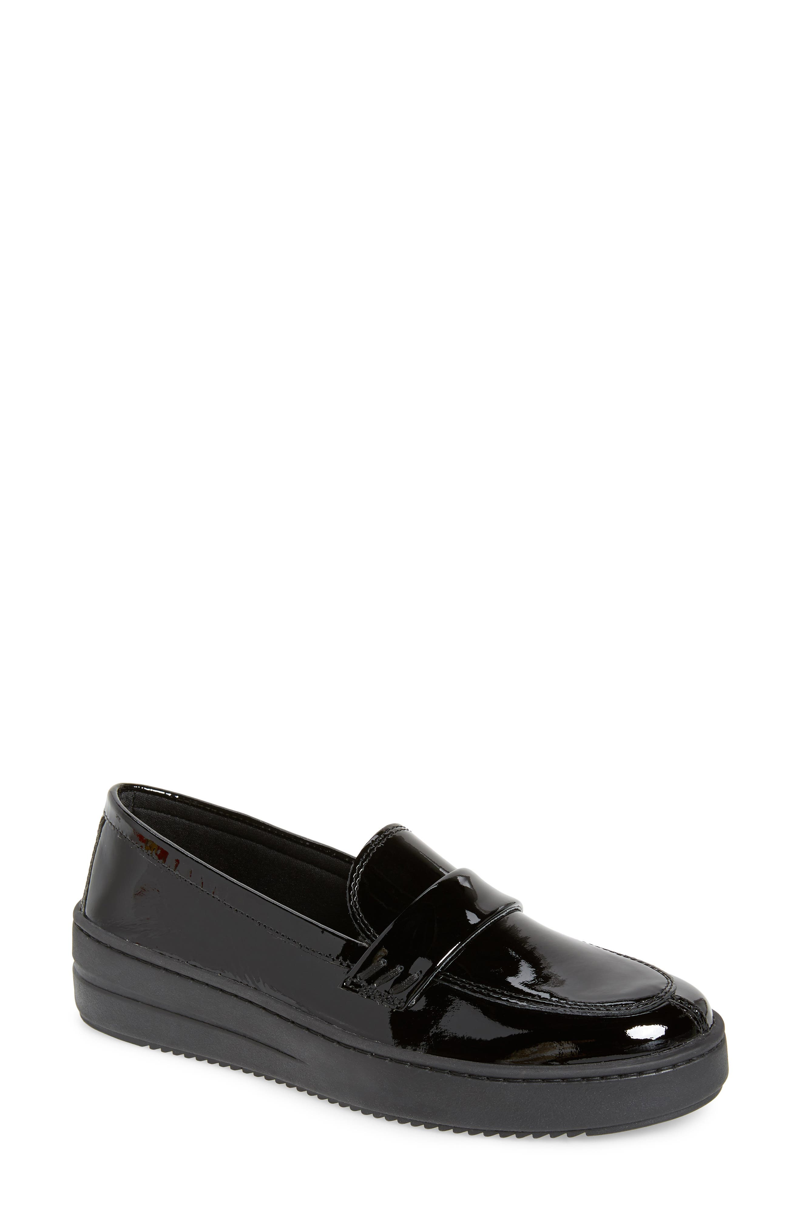 THE FLEXX, No Loaf N Loafer, Main thumbnail 1, color, BLACK PATENT LEATHER