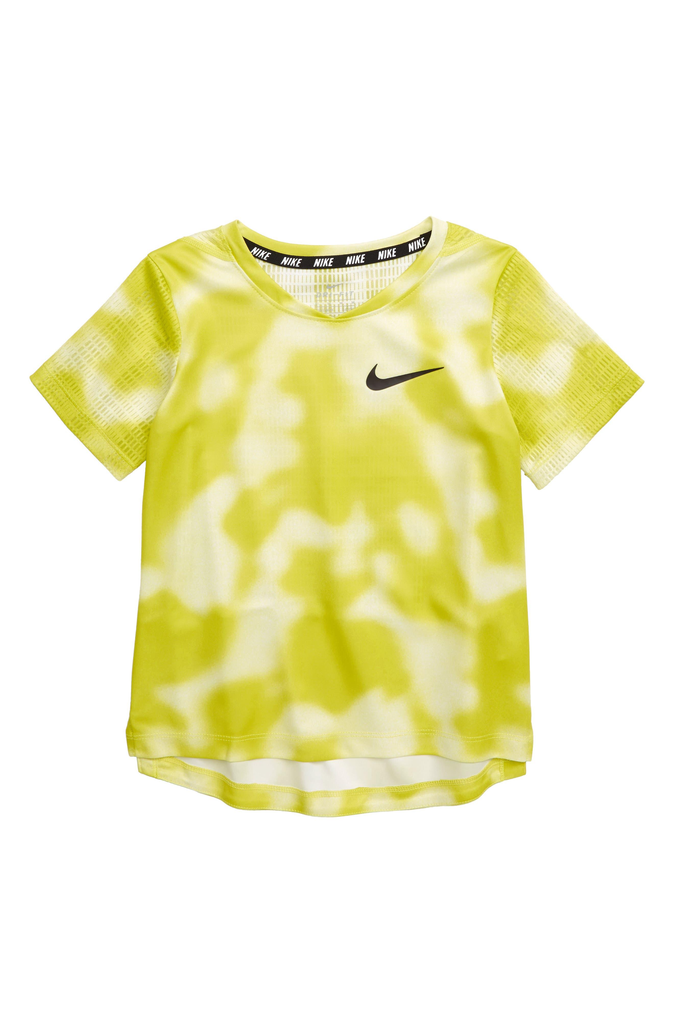 Boys Nike DriFit Breathe Instacool Shirt Size 4  Blue