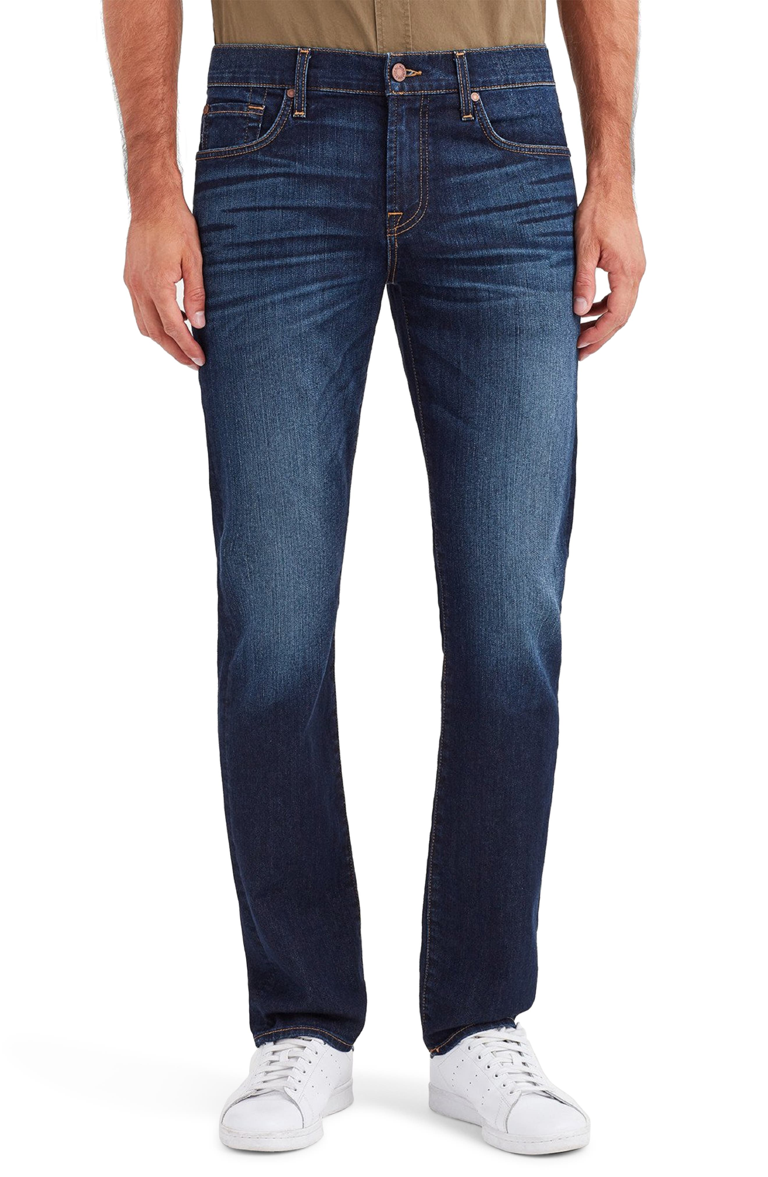 7 FOR ALL MANKIND<SUP>®</SUP>, 'Slimmy - Luxe Performance' Slim Fit Jeans, Main thumbnail 1, color, AIR WEFT COMMOTION
