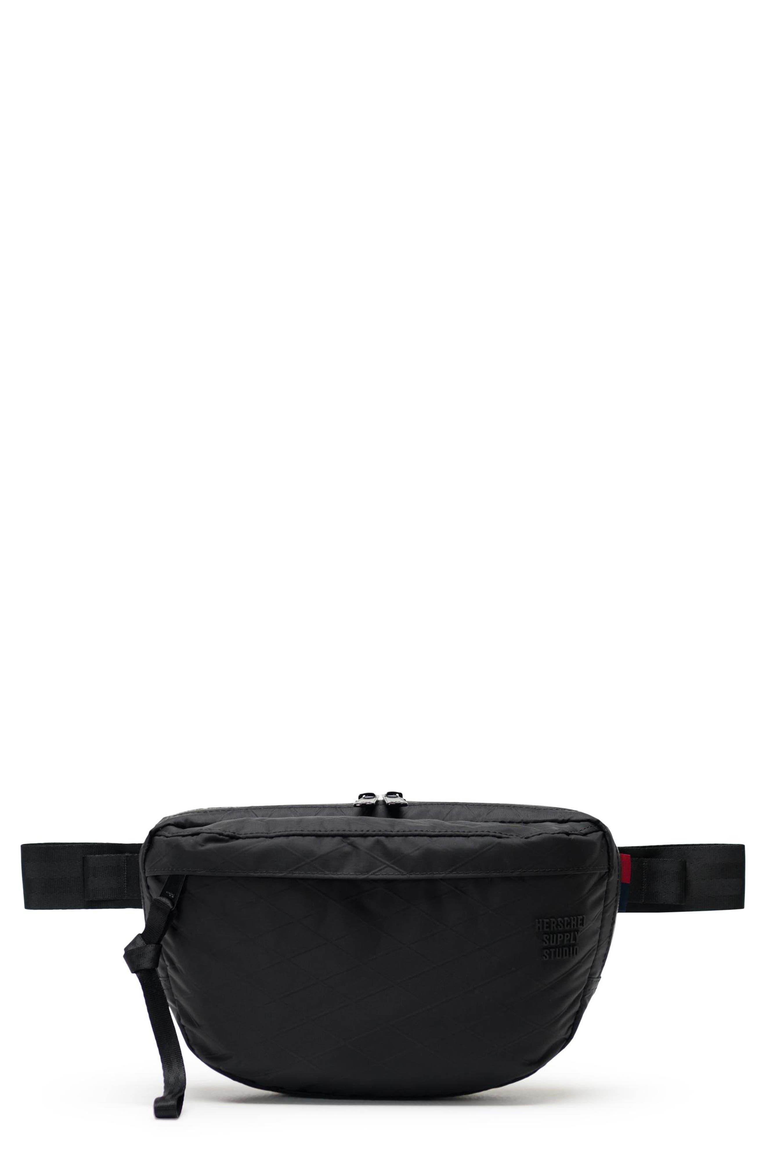 HERSCHEL SUPPLY CO. Nineteen Studio Belt Bag, Main, color, BLACK