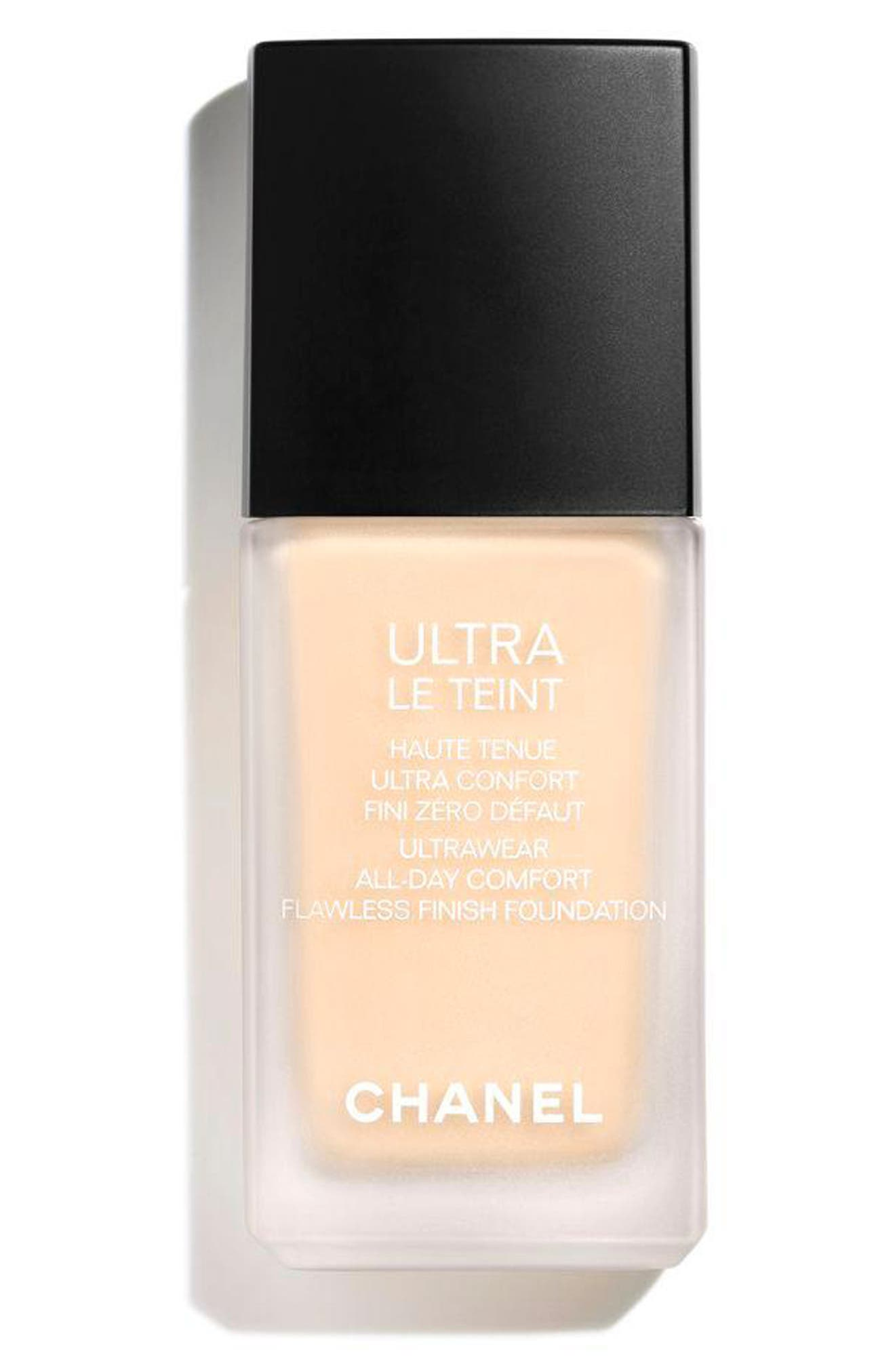 CHANEL, ULTRA LE TEINT<br />Ultrawear All-Day Comfort Flawless Finish Foundation, Main thumbnail 1, color, BD01