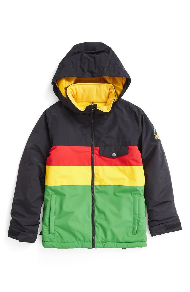 e4b58f6276b2 Burton 'Symbol' Water Resistant Hooded Jacket (Big Boys) | Nordstrom
