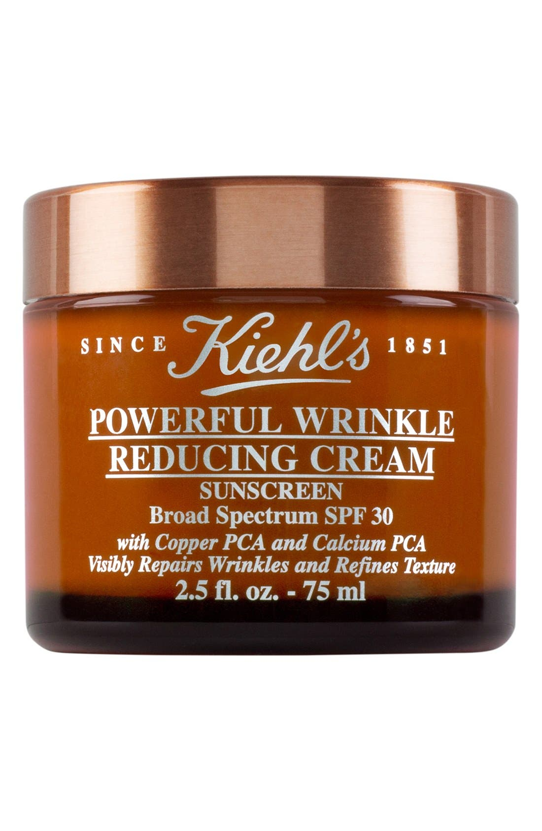 KIEHL'S SINCE 1851, Powerful Wrinkle Reducing Cream Broad Spectrum SPF 30, Alternate thumbnail 3, color, NO COLOR