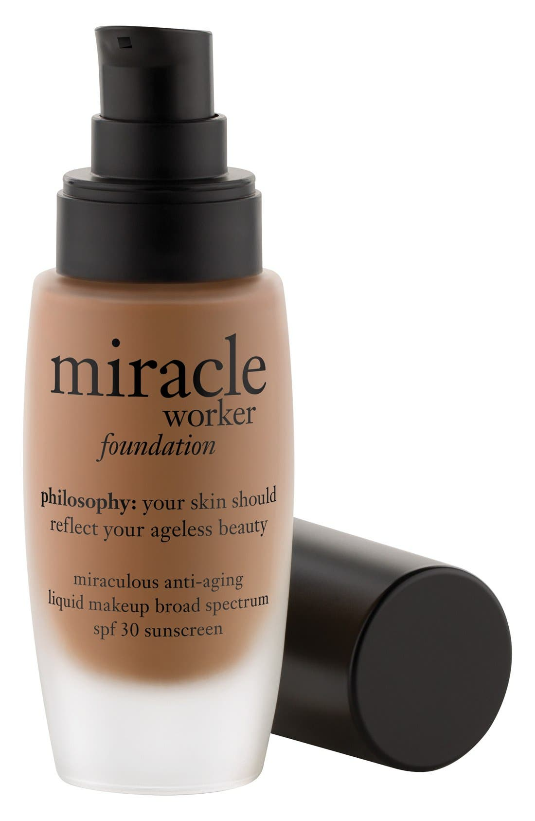 PHILOSOPHY, 'miracle worker' miraculous anti-aging foundation SPF 30, Main thumbnail 1, color, 257