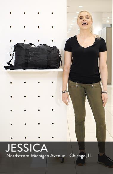 Packable Nylon Duffel Bag, sales video thumbnail