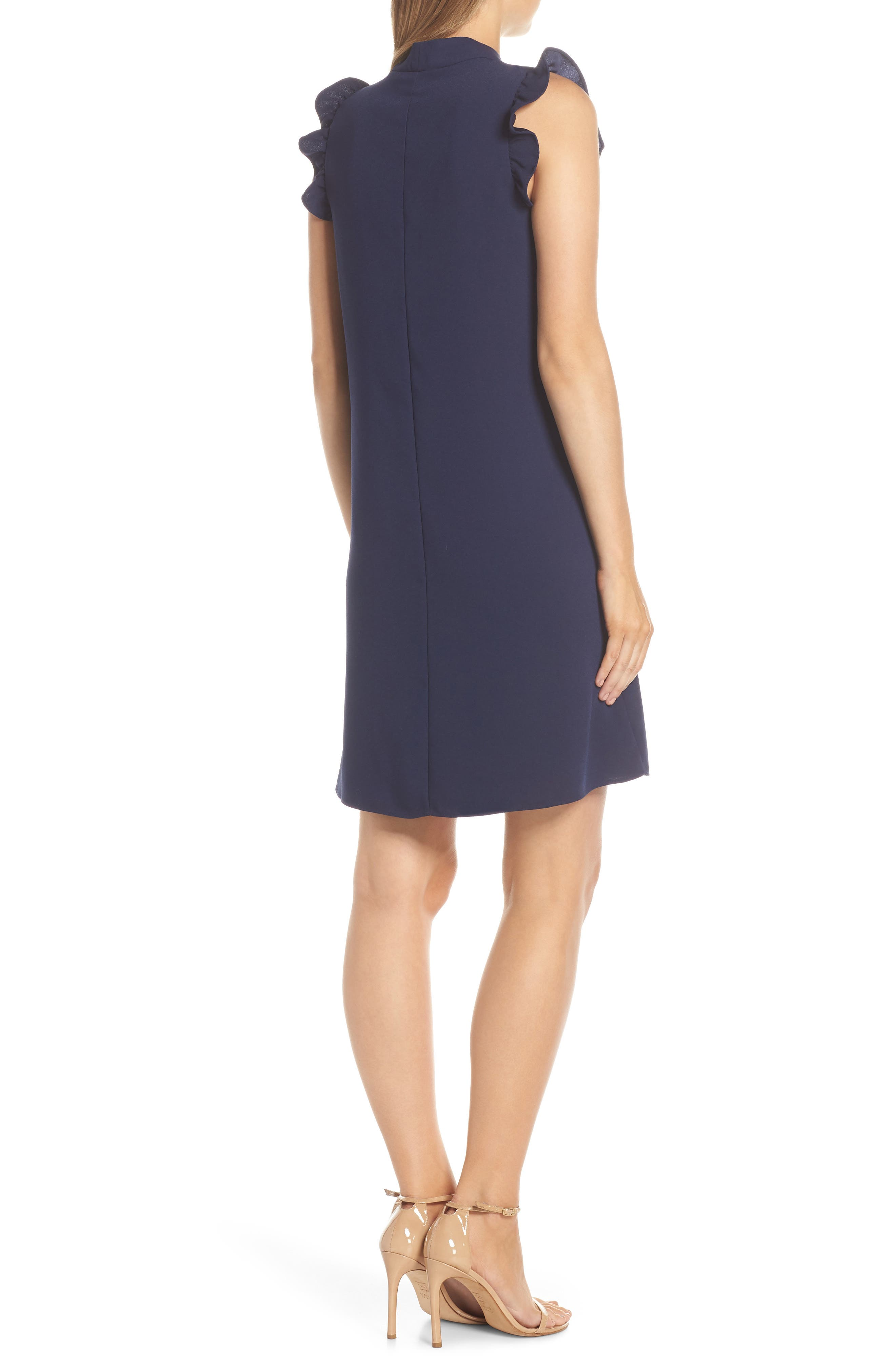 LILLY PULITZER<SUP>®</SUP>, Adalee Shift Dress, Alternate thumbnail 2, color, TRUE NAVY