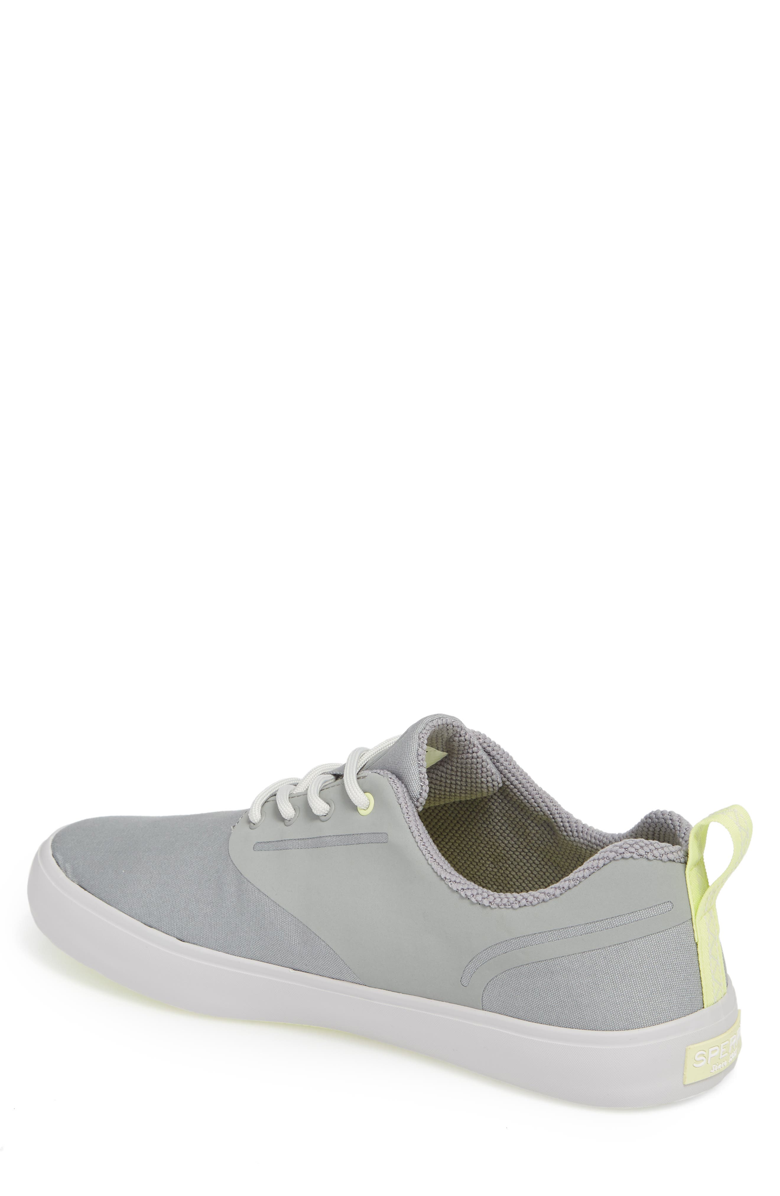SPERRY, Flex Deck CVO Sneaker, Alternate thumbnail 2, color, GREY
