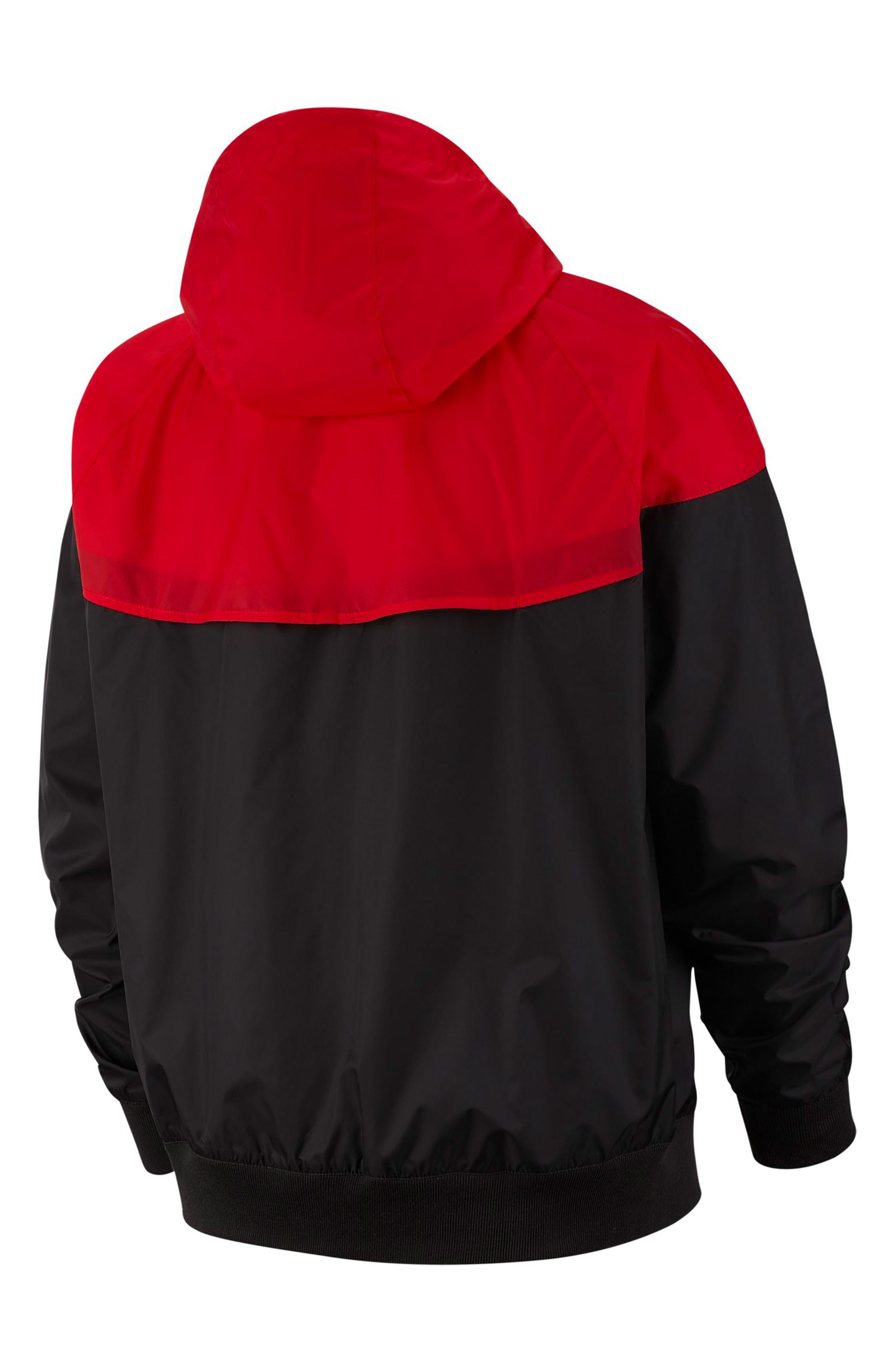 NIKE, Sportswear Windrunner Jacket, Alternate thumbnail 7, color, 011