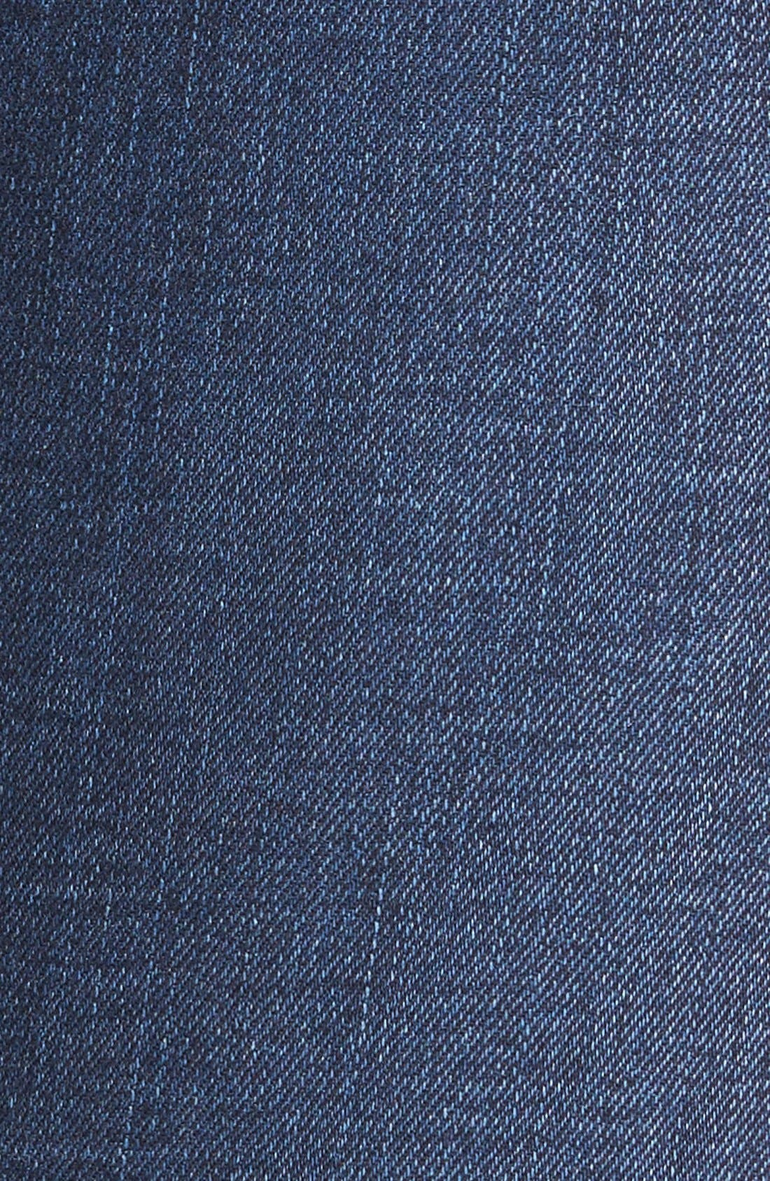 MADEWELL, 10-Inch High Rise Skinny Jeans, Alternate thumbnail 11, color, HAYES WASH