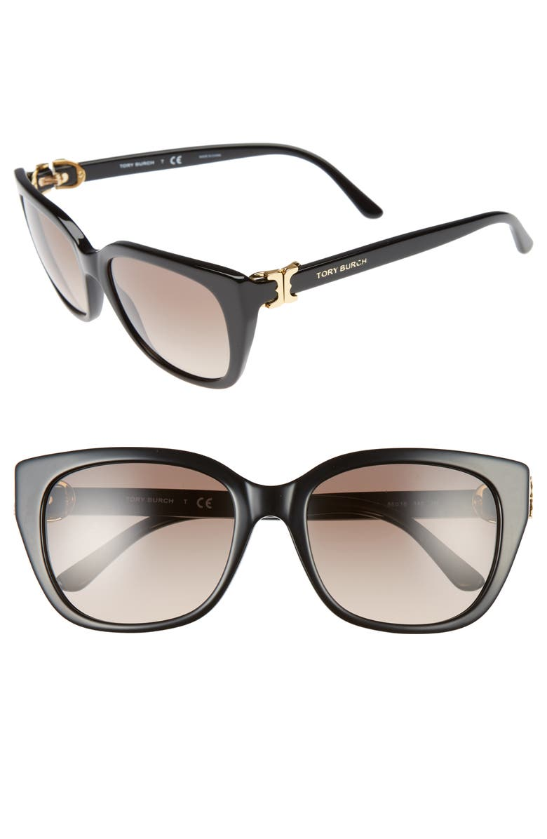 f2292a08242a1 Tory Burch 56mm Cat Eye Sunglasses