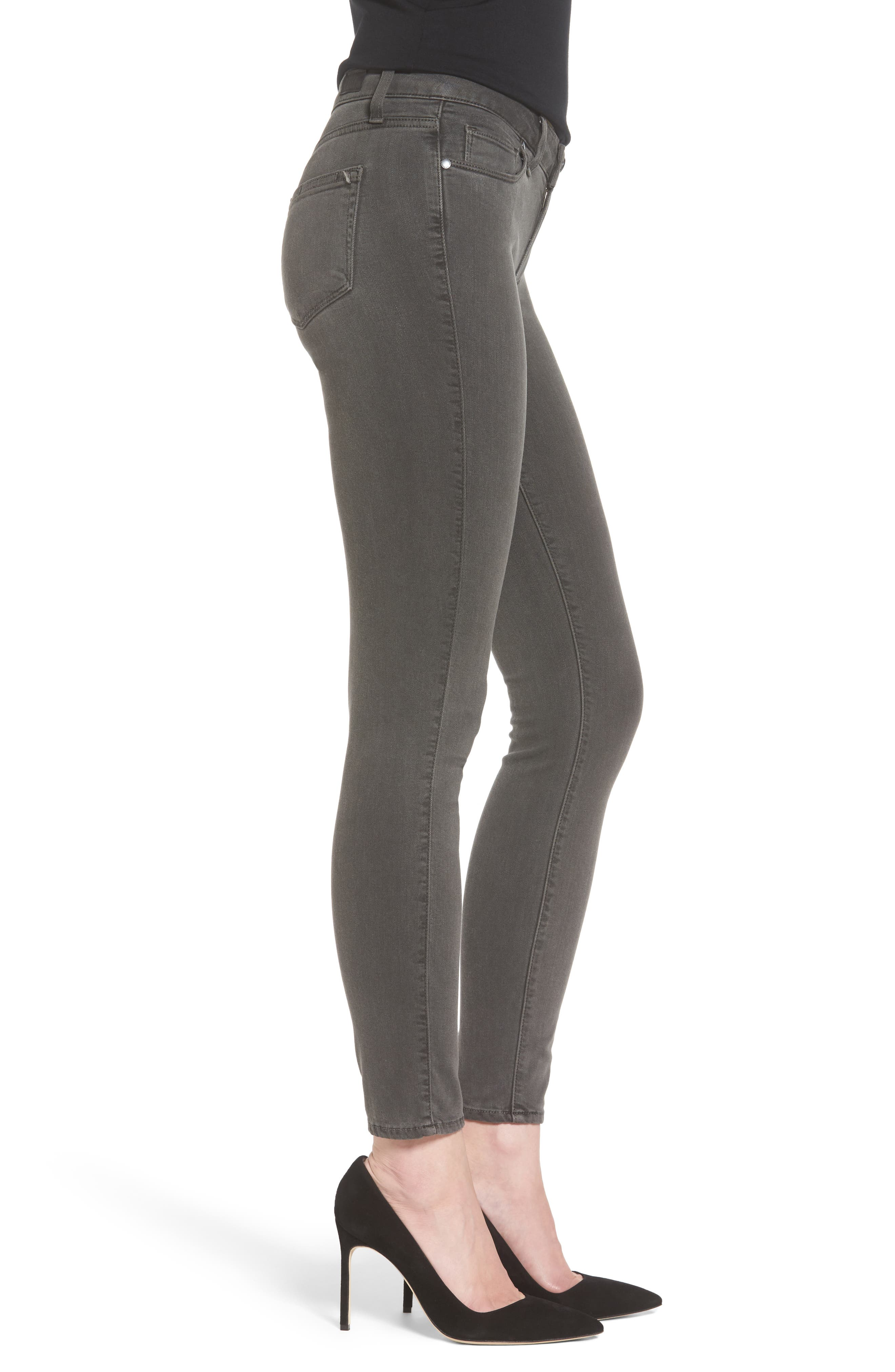 PAIGE, Transcend - Verdugo Ankle Skinny Jeans, Alternate thumbnail 3, color, 021