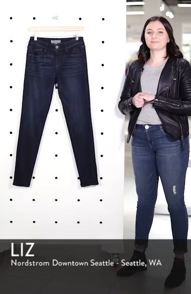 Super Smooth Stretch Denim Skinny Jeans, sales video thumbnail