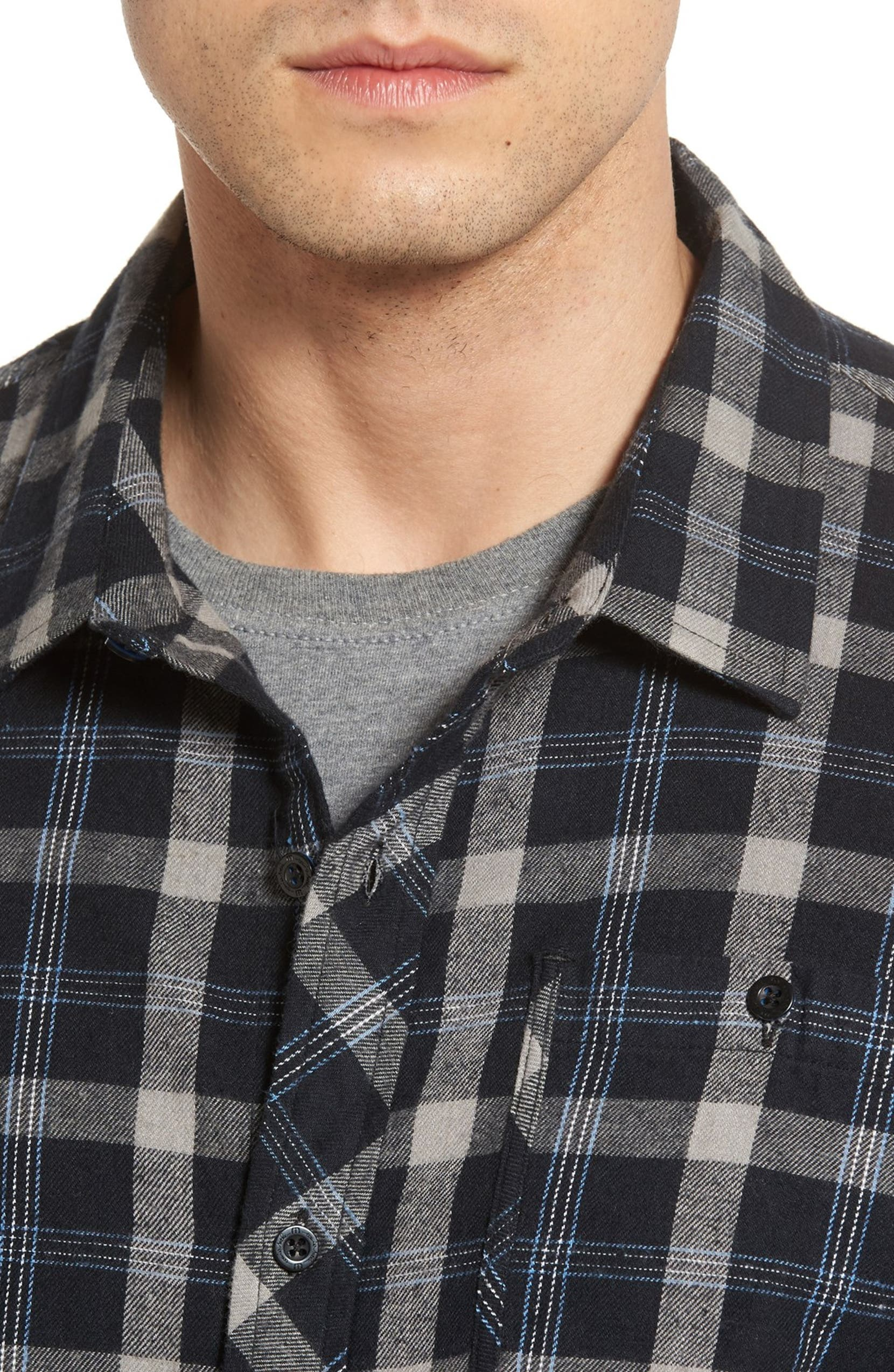 96b7dafb4 Travis Mathew Braden Slim Fit Plaid Sport Shirt | Nordstrom