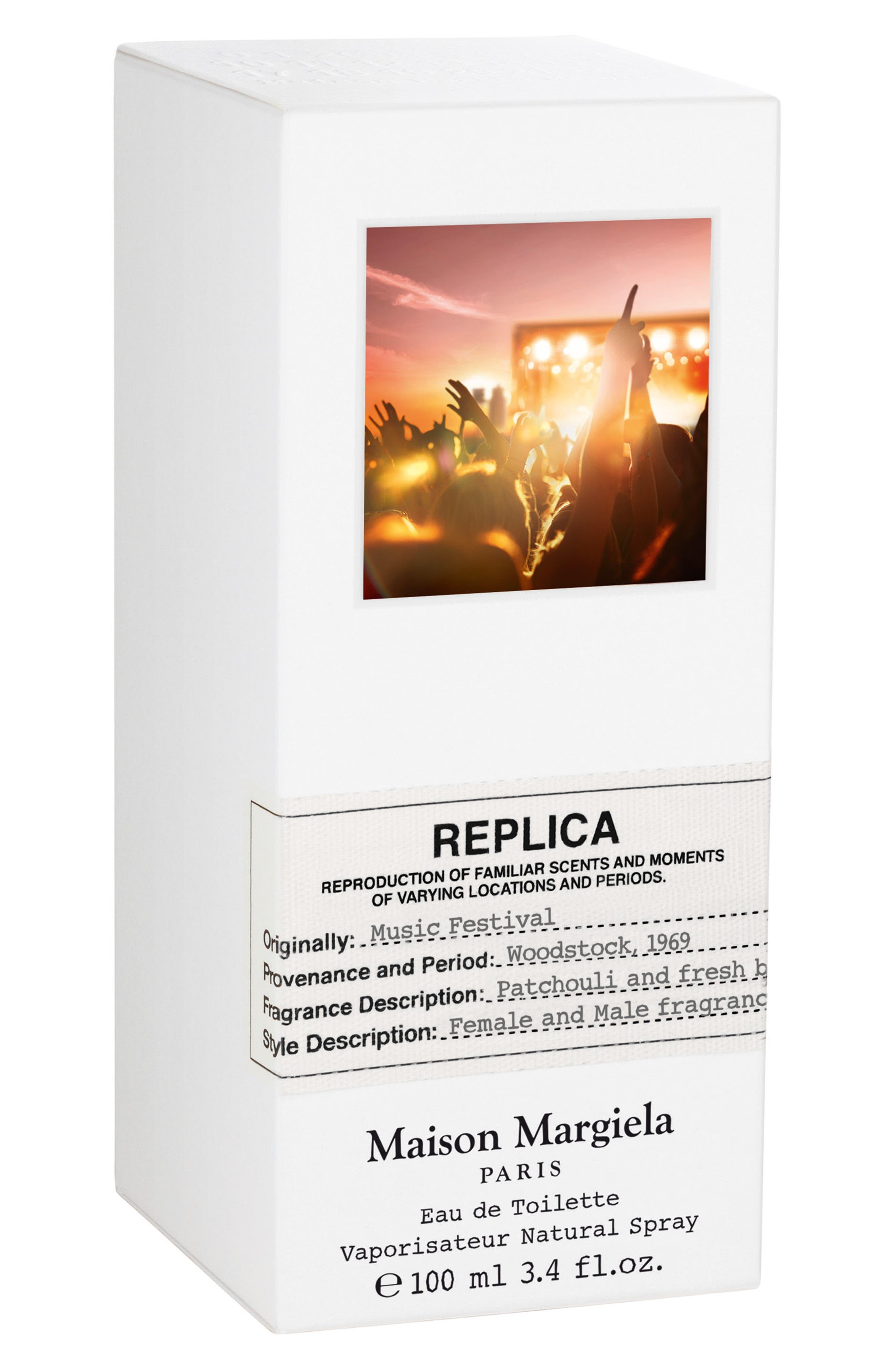 MAISON MARGIELA, Replica Music Festival Eau de Toilette, Alternate thumbnail 2, color, NO COLOR
