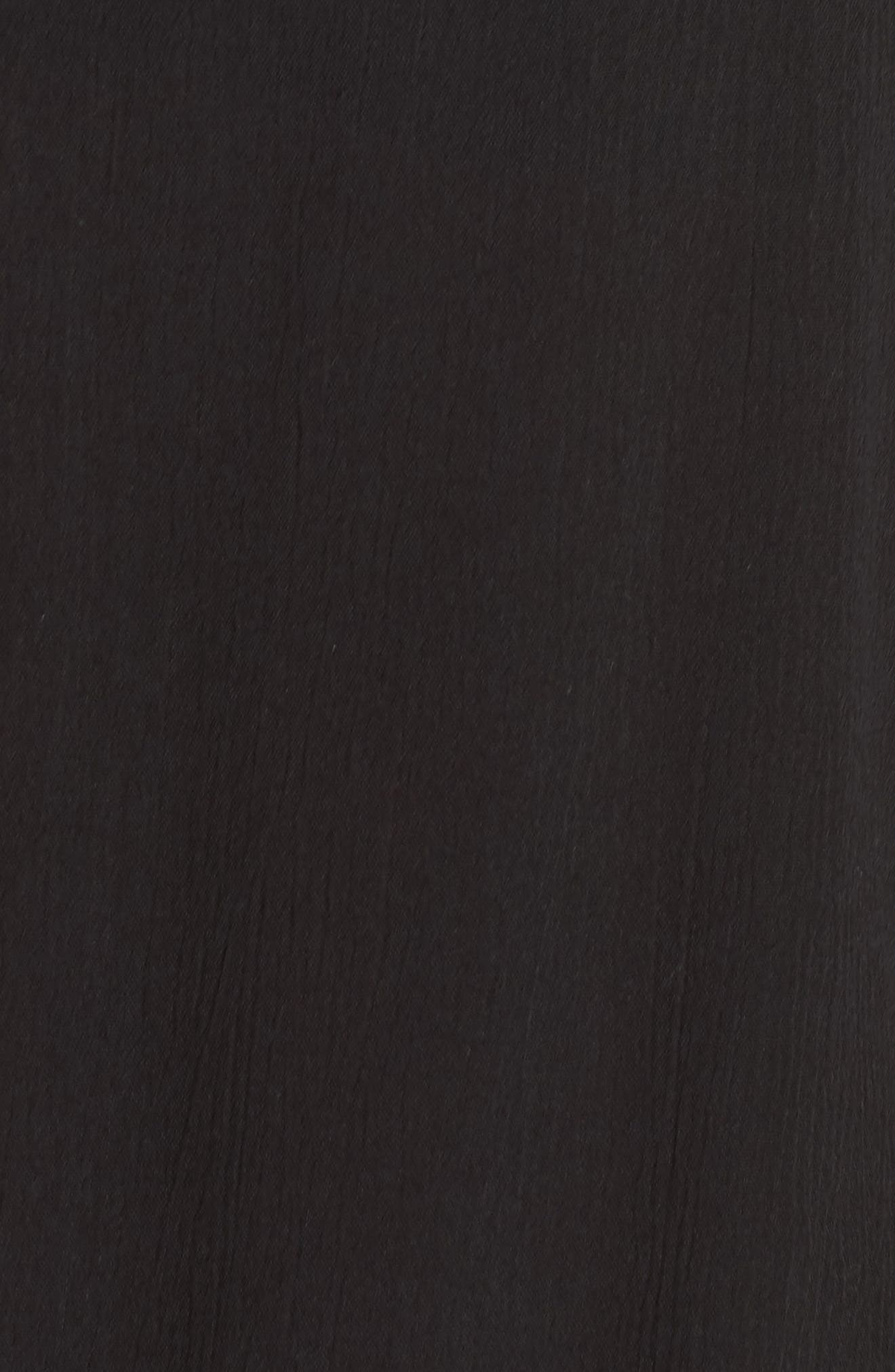 ELAN, Side Tie Cover-Up Dress, Alternate thumbnail 5, color, 001