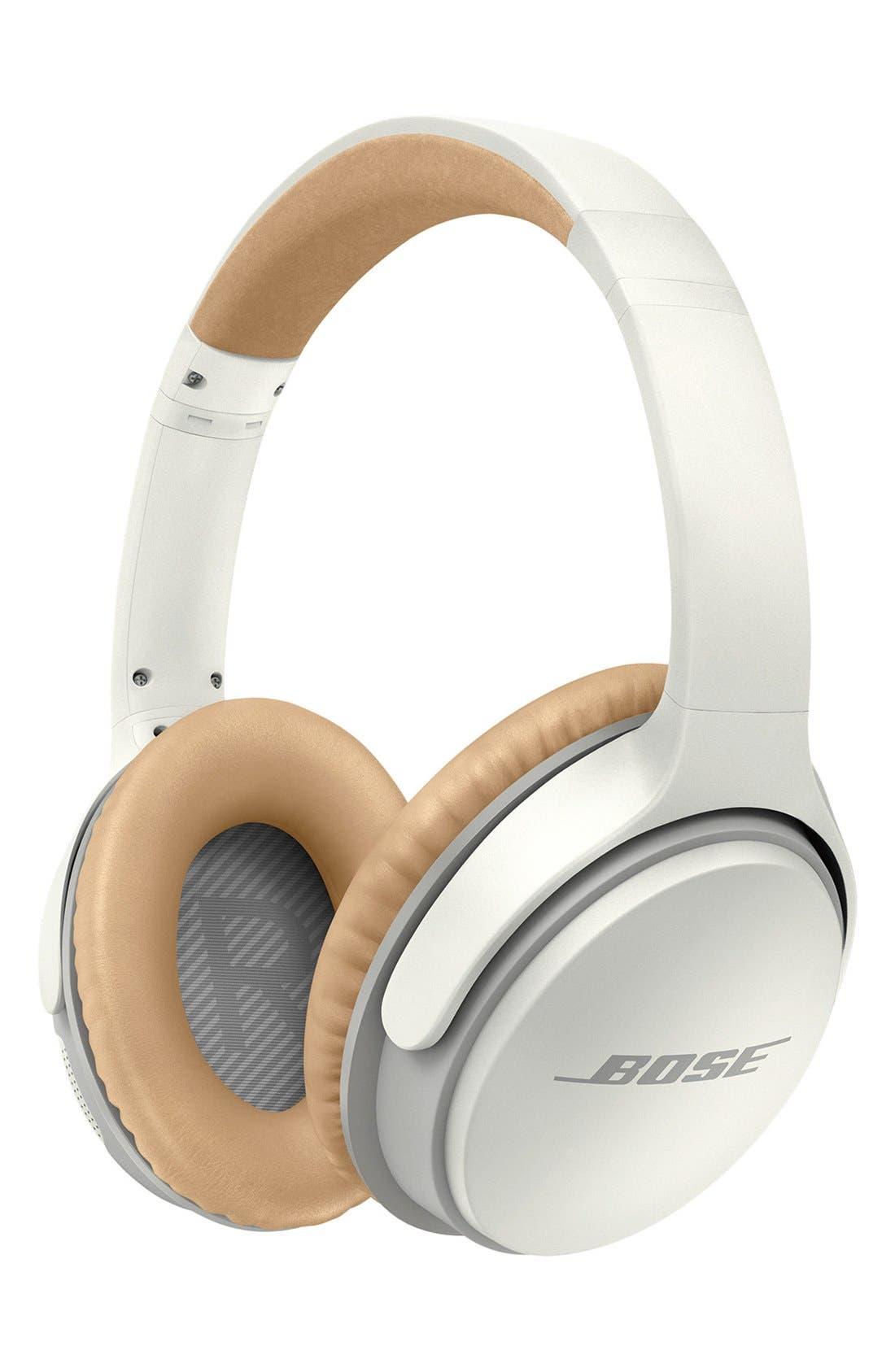 BOSE<SUP>®</SUP> SoundLink<sup>®</sup> II Around-Ear Bluetooth<sup>®</sup> Headphones, Main, color, WHITE