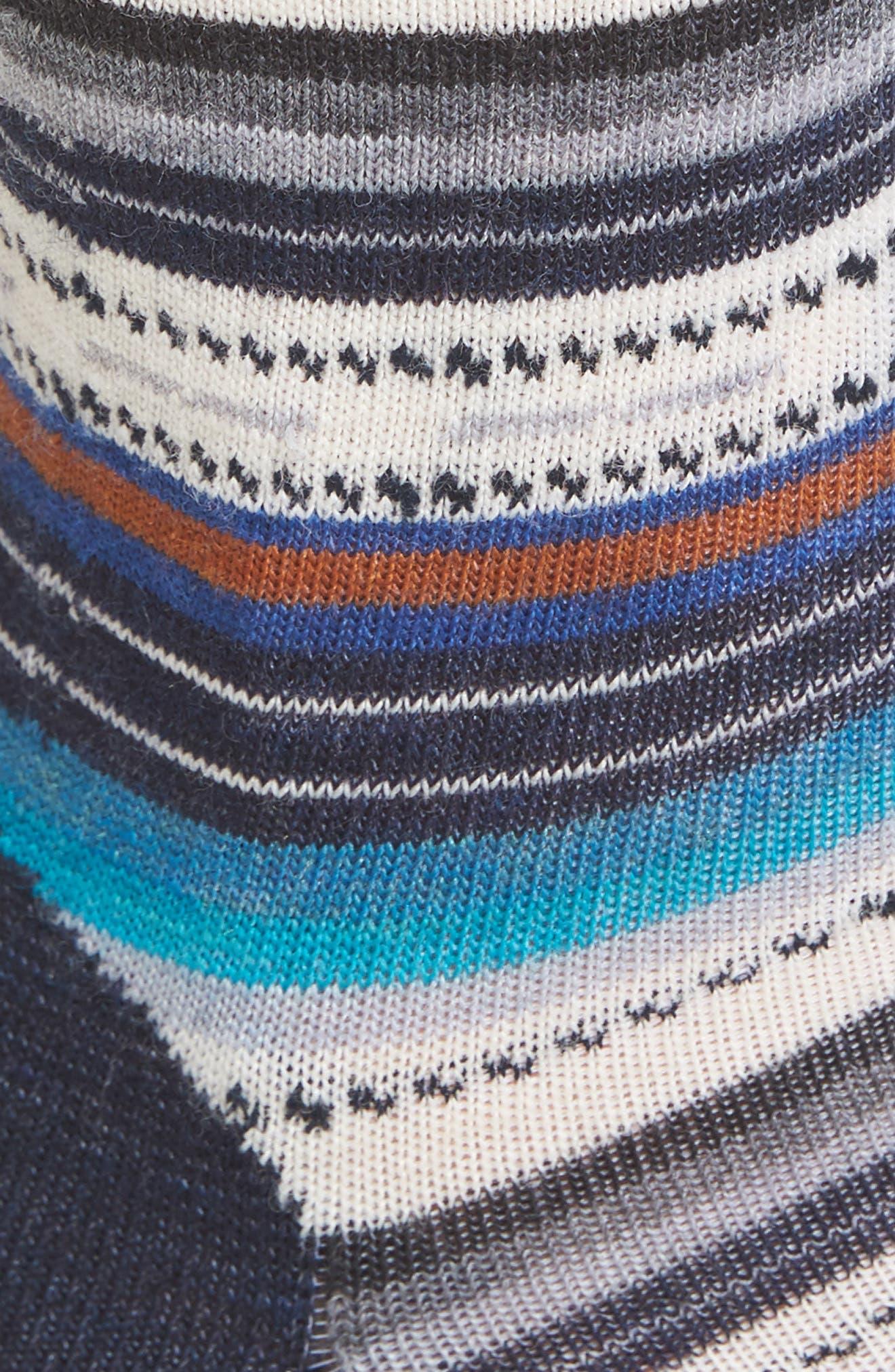 SMARTWOOL, Margarita Crew Socks, Alternate thumbnail 2, color, 410