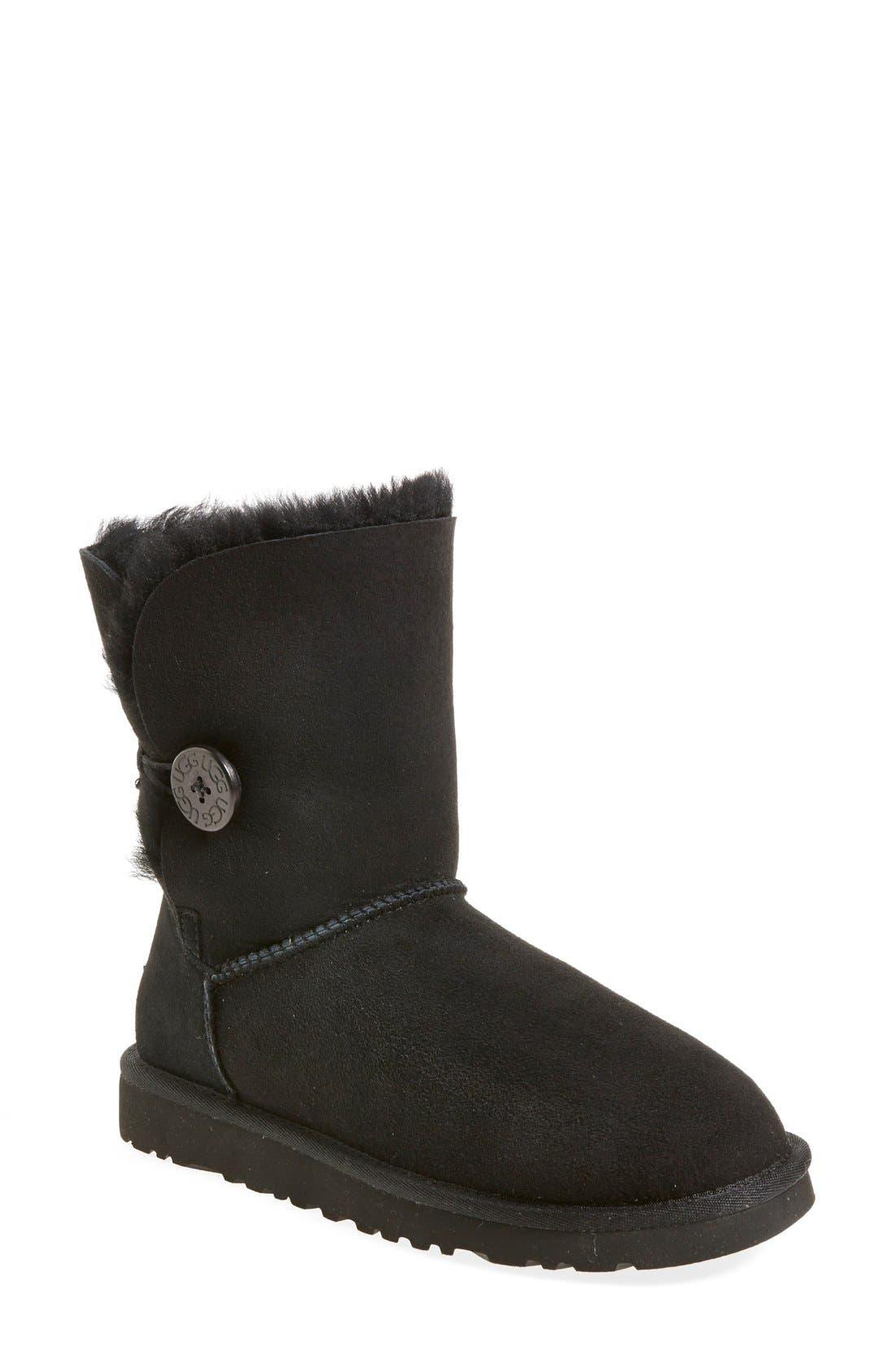 UGG<SUP>®</SUP>, 'Bailey Button' Boot, Main thumbnail 1, color, 001