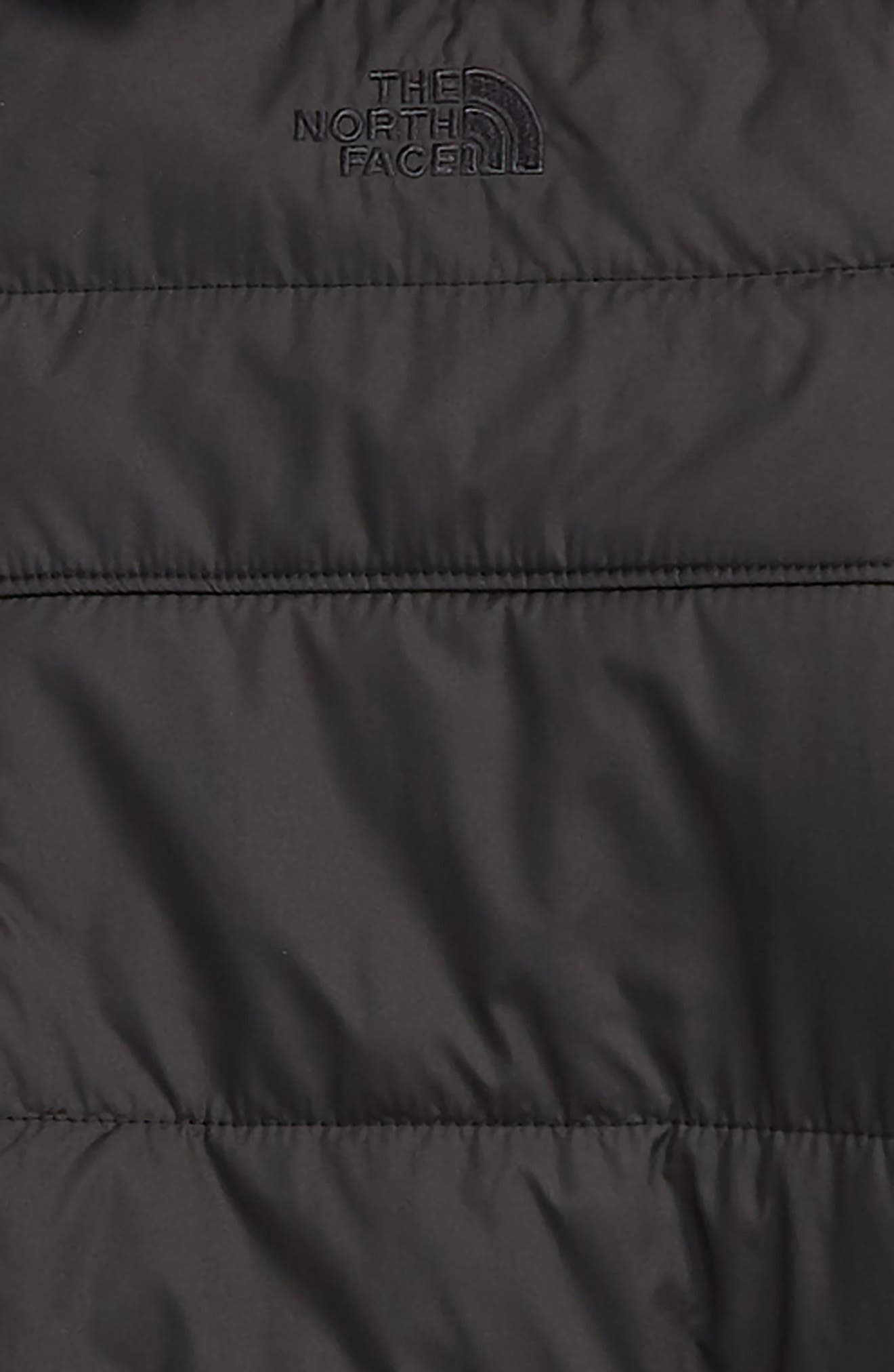 THE NORTH FACE, Mount Chimborazo Reversible Jacket, Alternate thumbnail 3, color, TNF BLACK/ TNF BLACK