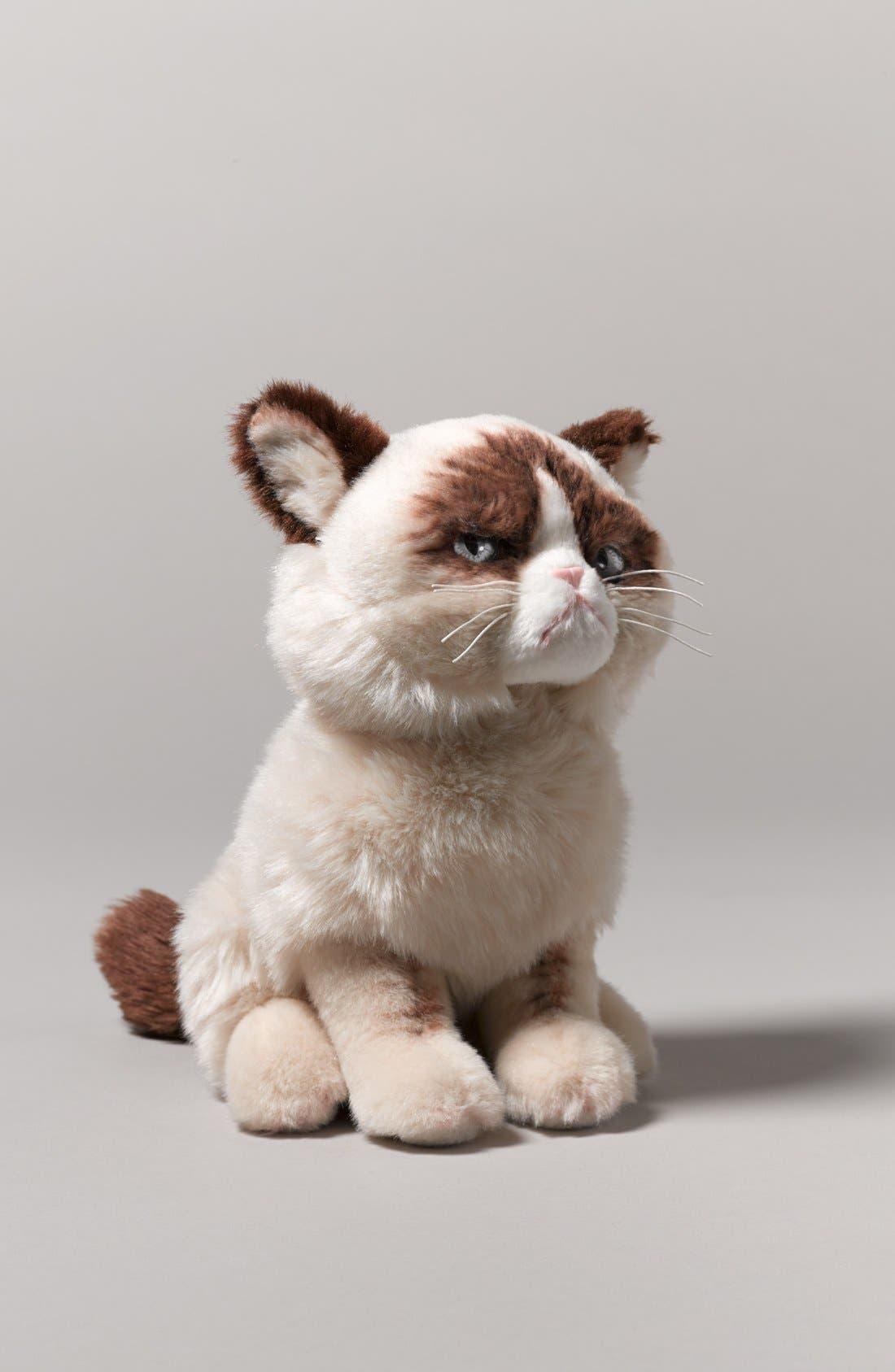 GUND, 'Grumpy Cat' Stuffed Animal, Alternate thumbnail 6, color, 000